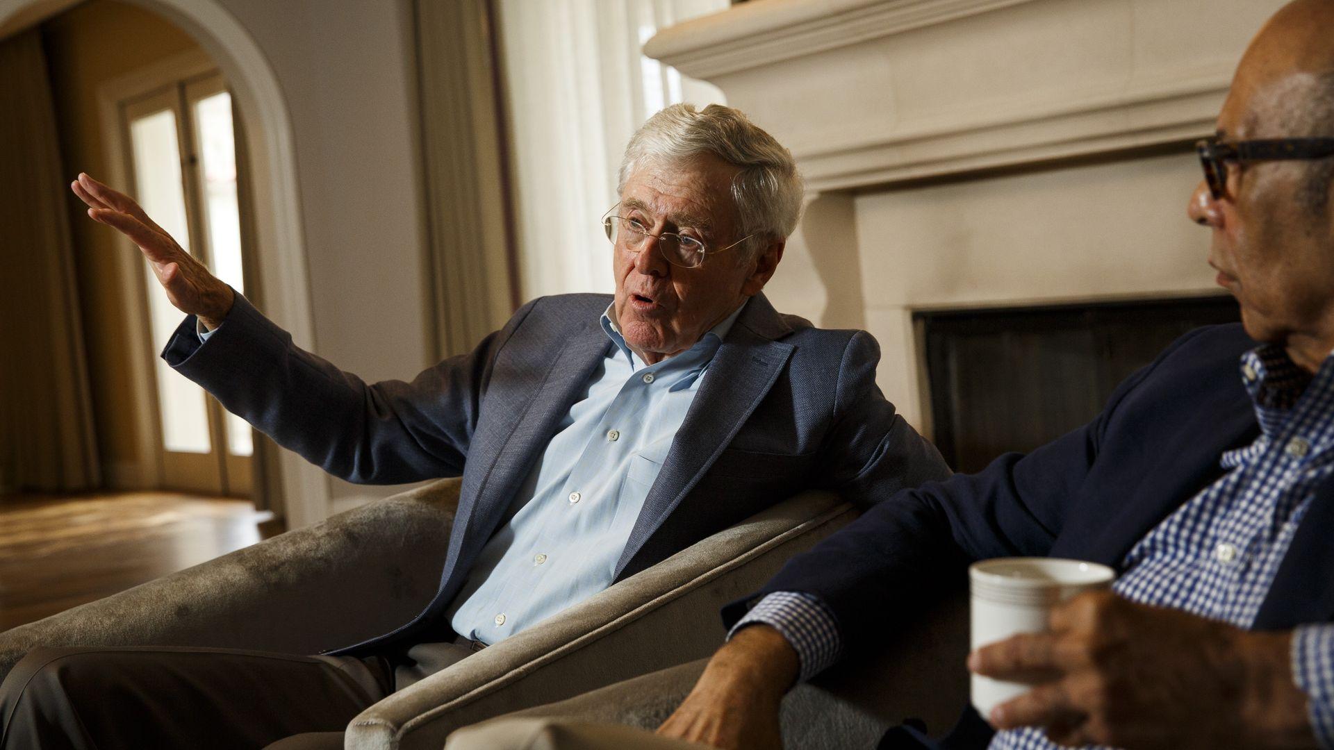 Billionaire conservativeCharles Koch.