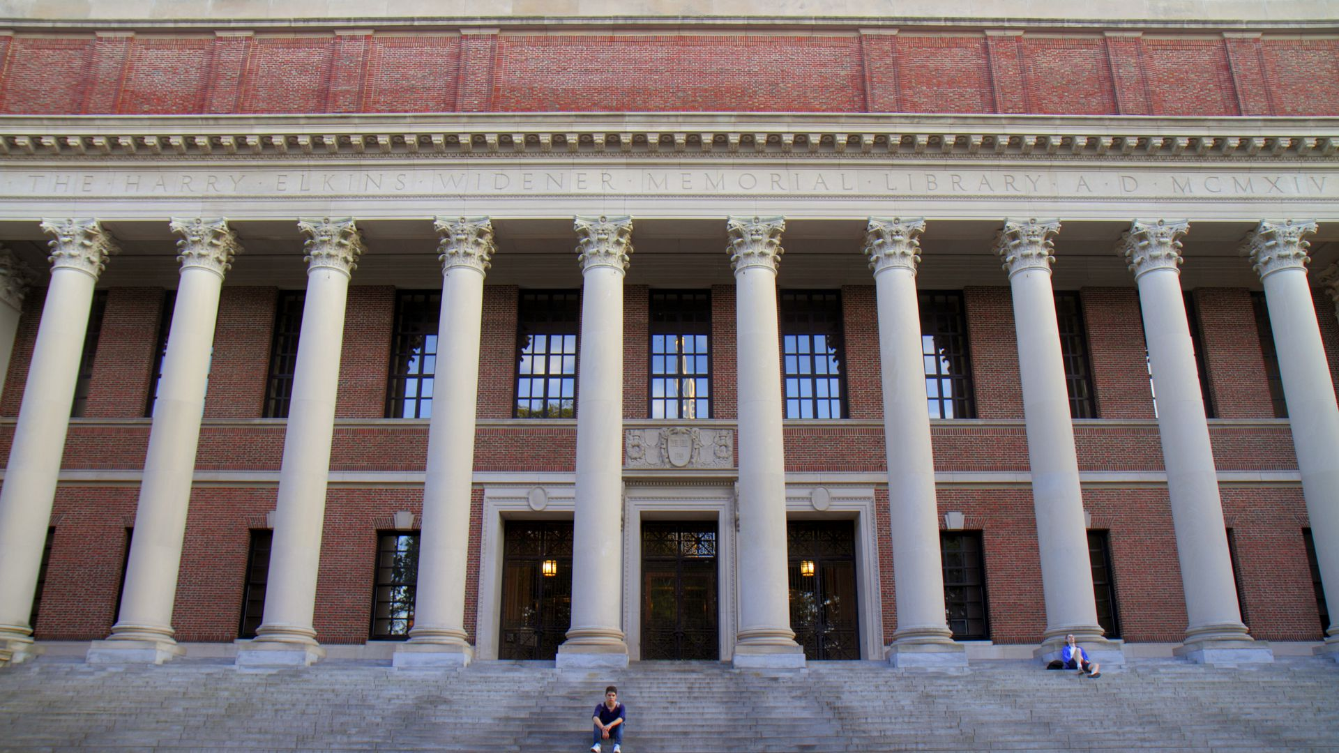 Harvard's Widener Library