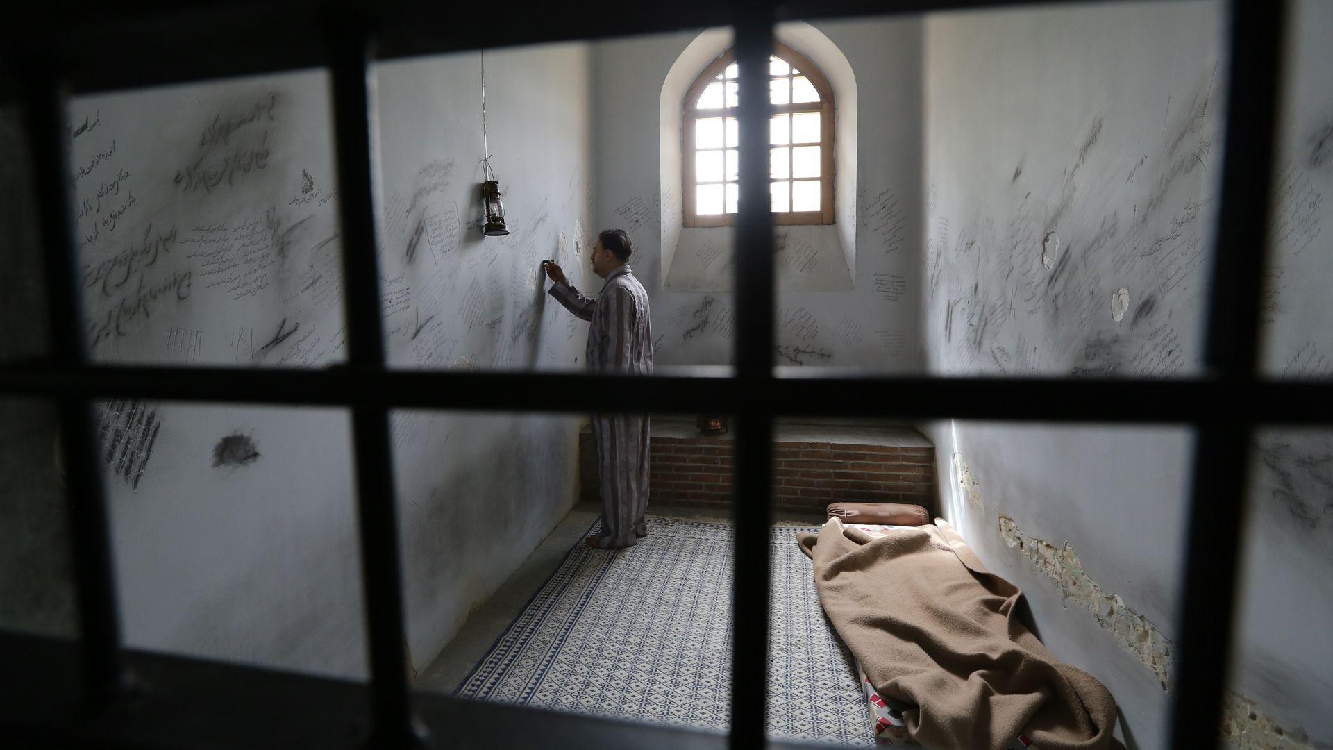 Prisoner in Iran