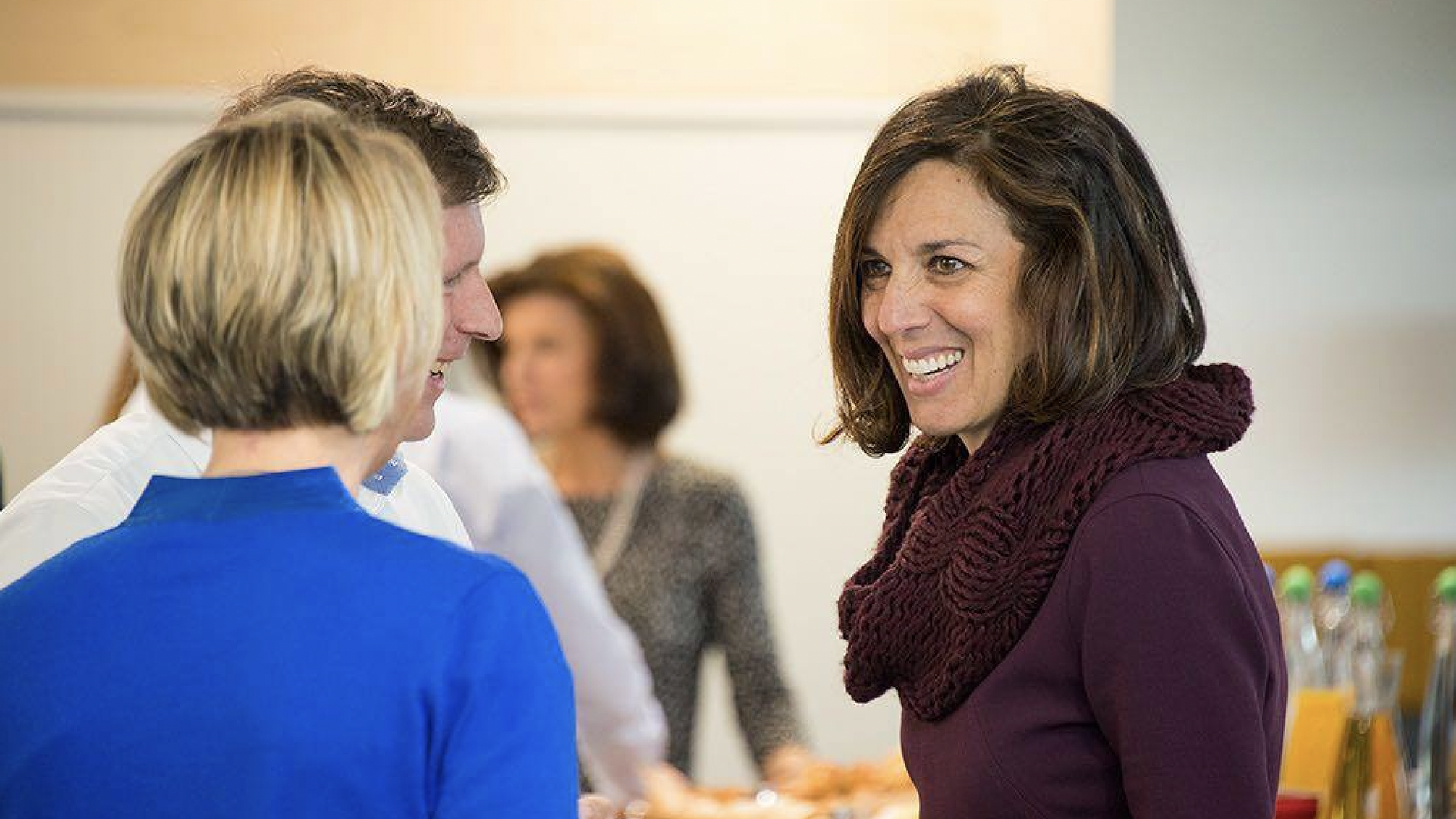 Incoming Google HR chief Fiona Cicconi (right)