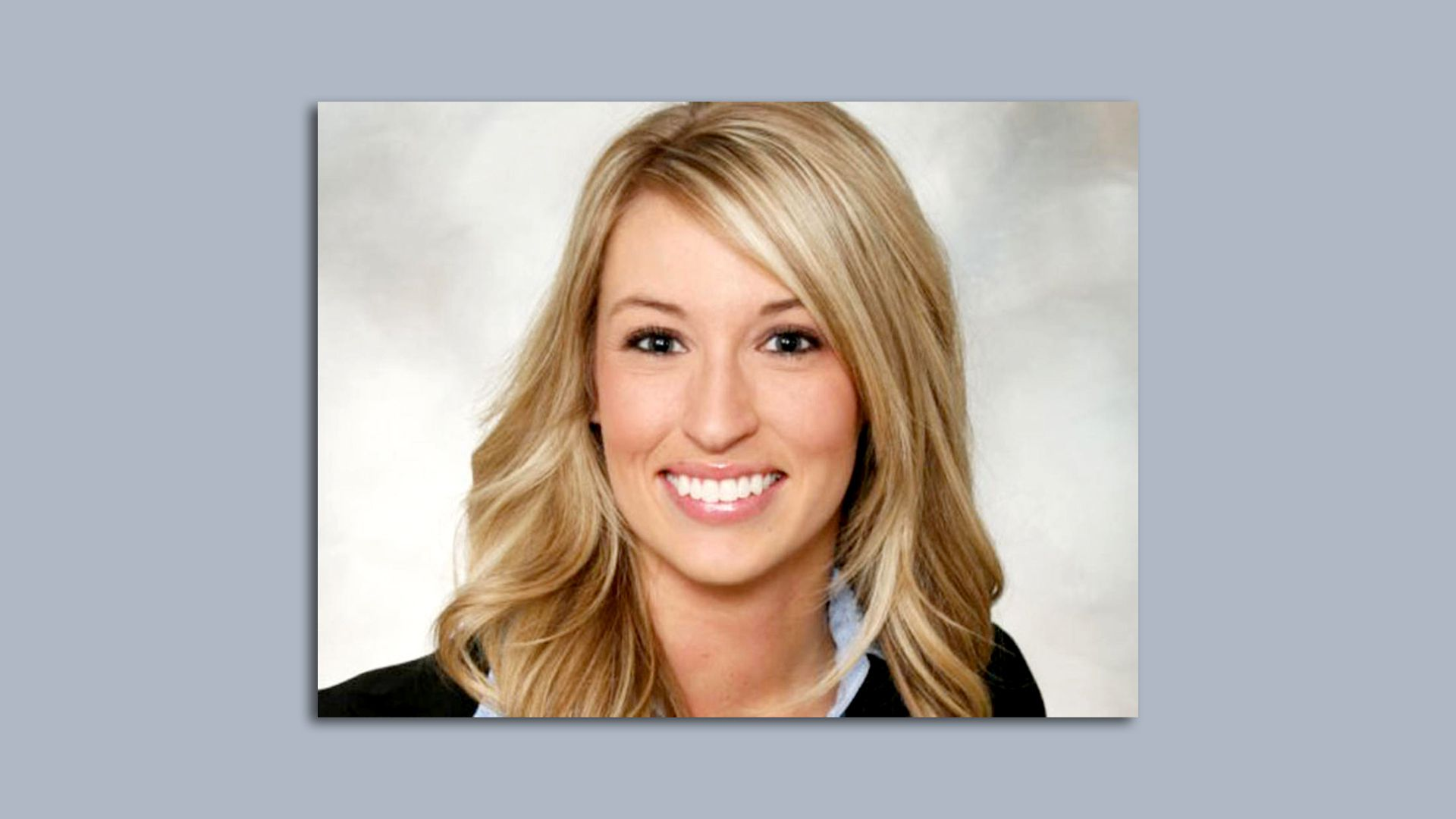 Ashley Okland, a realtor in Des Moines who was murdered 10 years ago.
