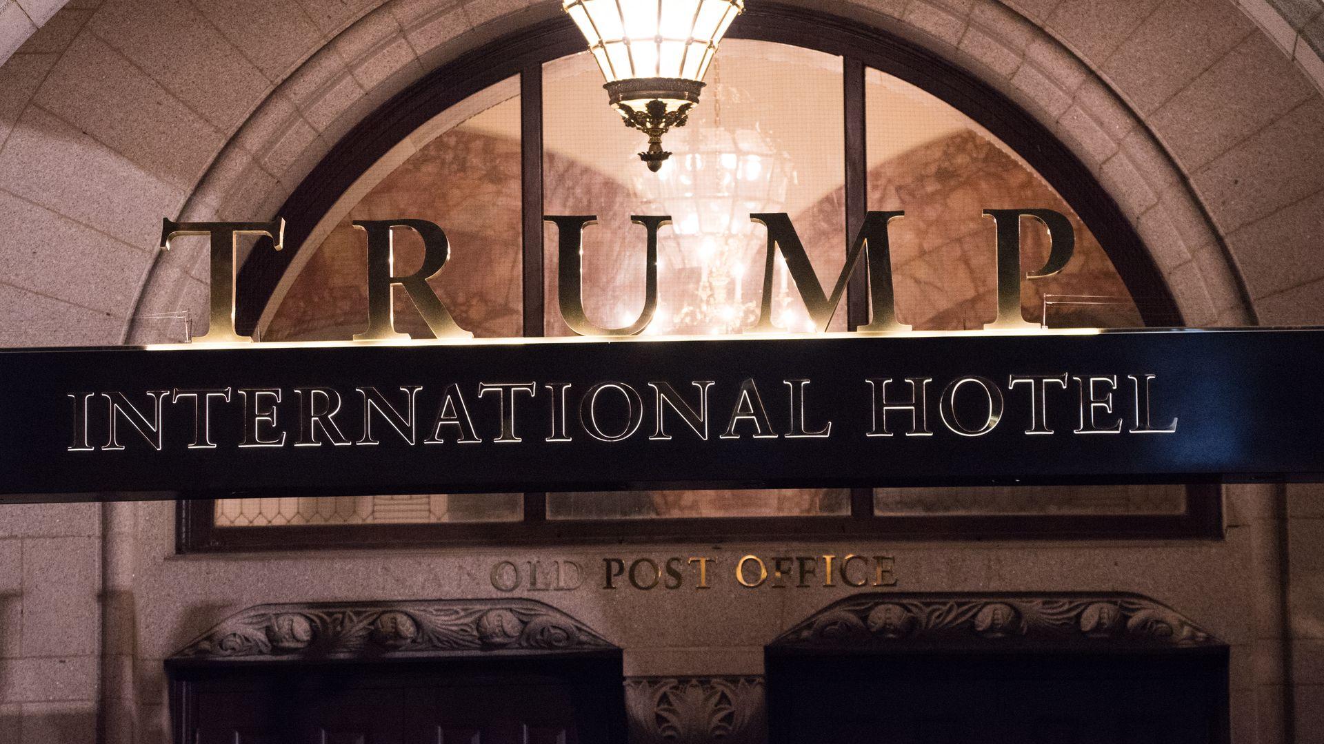 Appeals court revives lawsuit against Trump for hotel profits