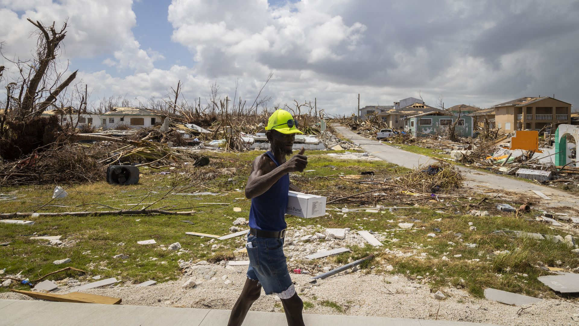 Growing Up In Bad Neighborhoods Has A Devastating Impact Study >> Dorian Devastated Bahamas Lashed By Tropical Storm