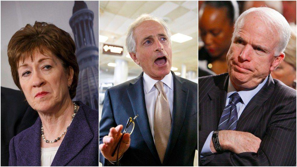 The GOP senators standing up to Trump - Axios