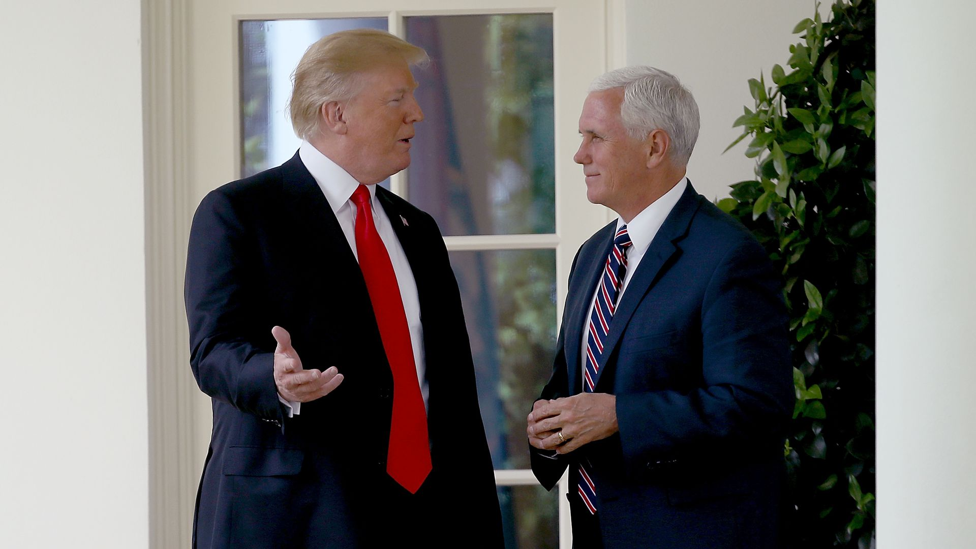 President Trump and Vice President Mike Pence. Photo:  Win McNamee/Getty Images