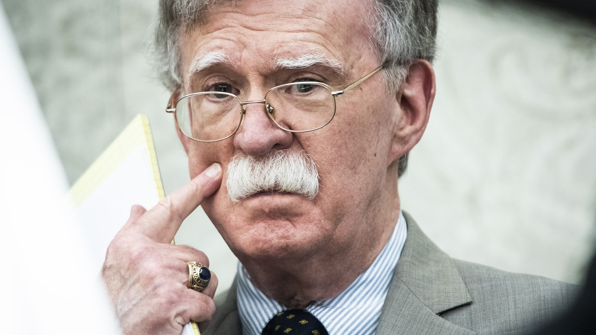 John Bolton denies coordinating with the New York Times on manuscript report