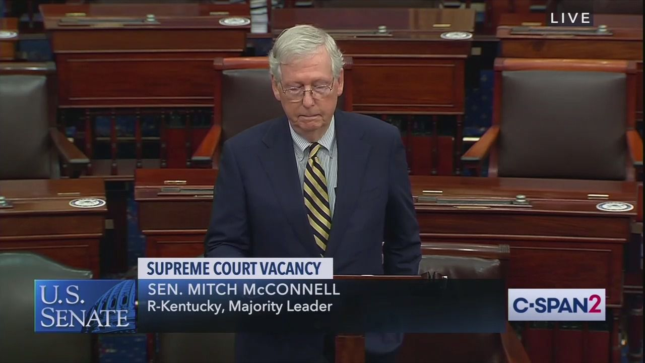 """McConnell: Senate has """"more than sufficient time"""" to process Supreme Court nomination thumbnail"""
