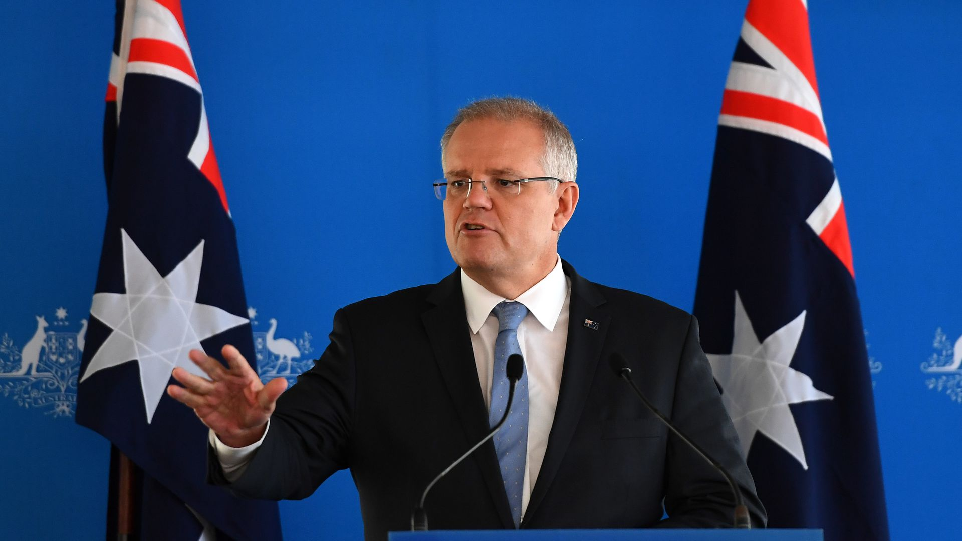 Scott Morrison spoke out over the live streaming of the New Zealand attacks.