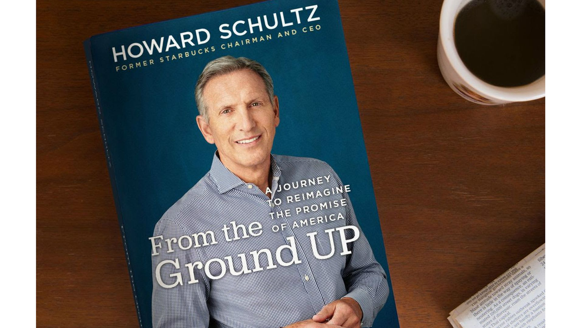 Howard schultz hits the road