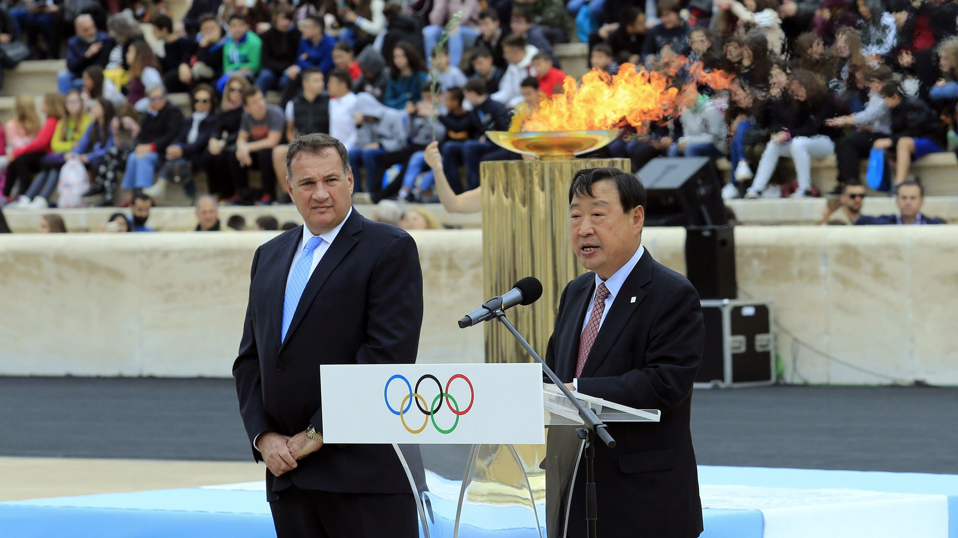 Lee Hee-beom, President of the PyeongChang Organising Committee for the 2018 Winter Olympics.
