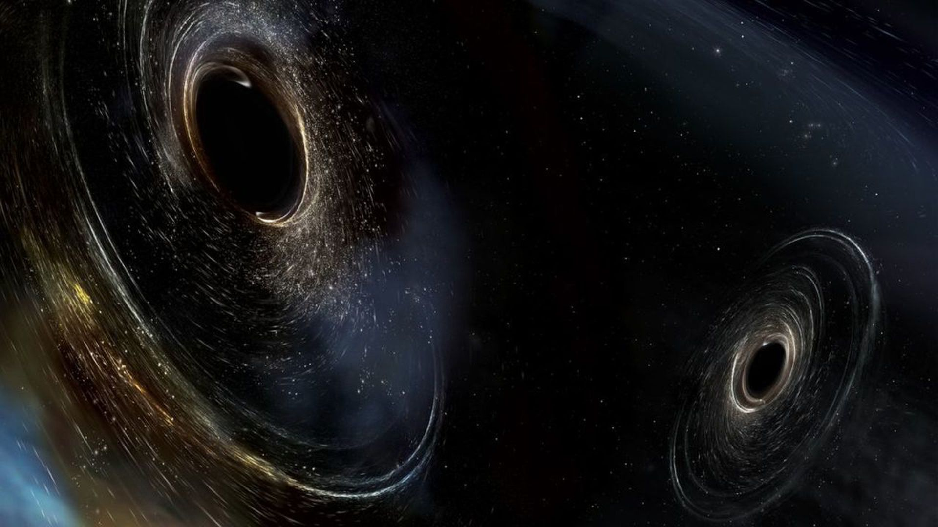 Artist's illustration of two black holes. Photo: LIGO/Caltech/MIT/Sonoma State