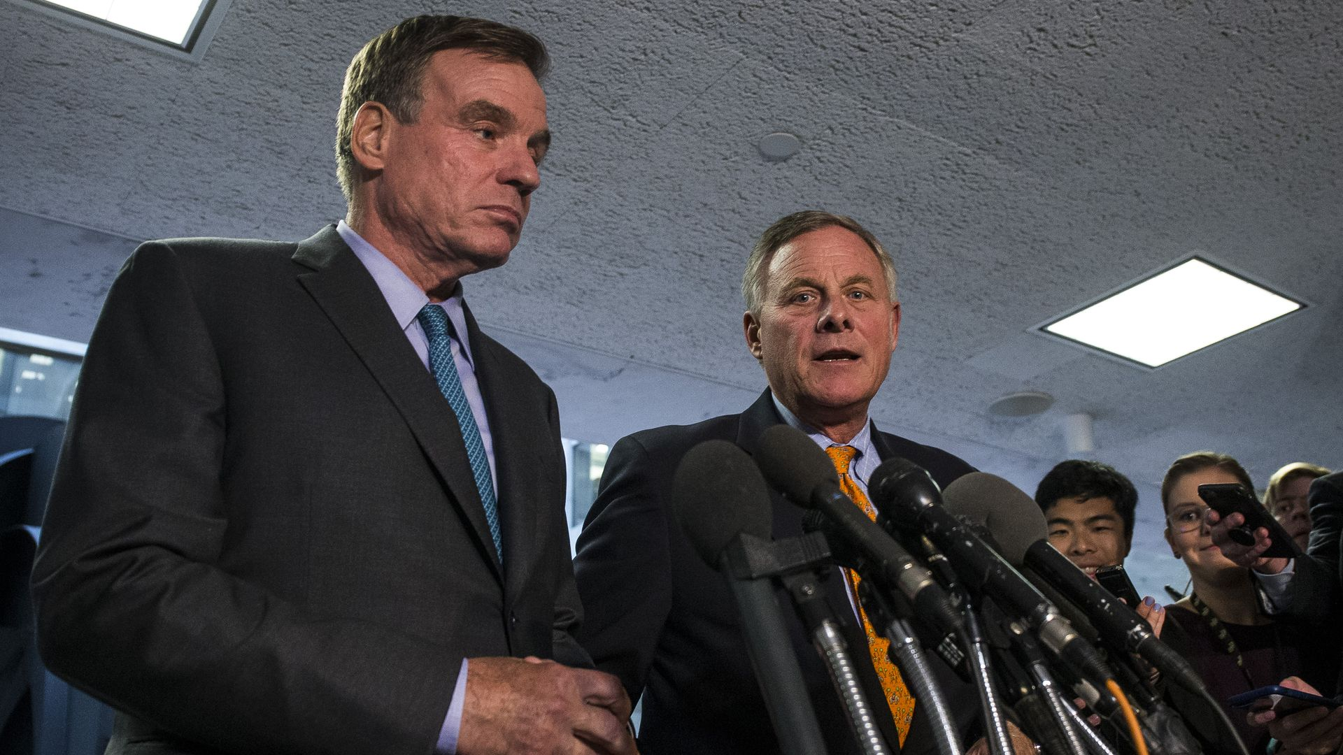 Mark Warner and Richard Burr