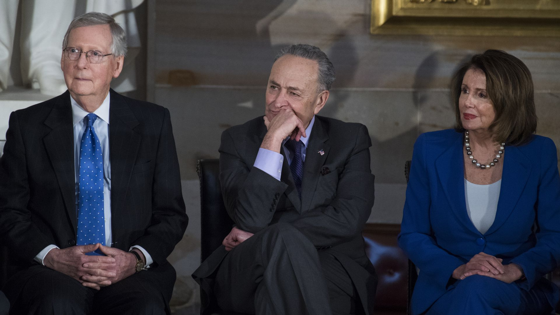 McConnell, Pelosi and Schumer