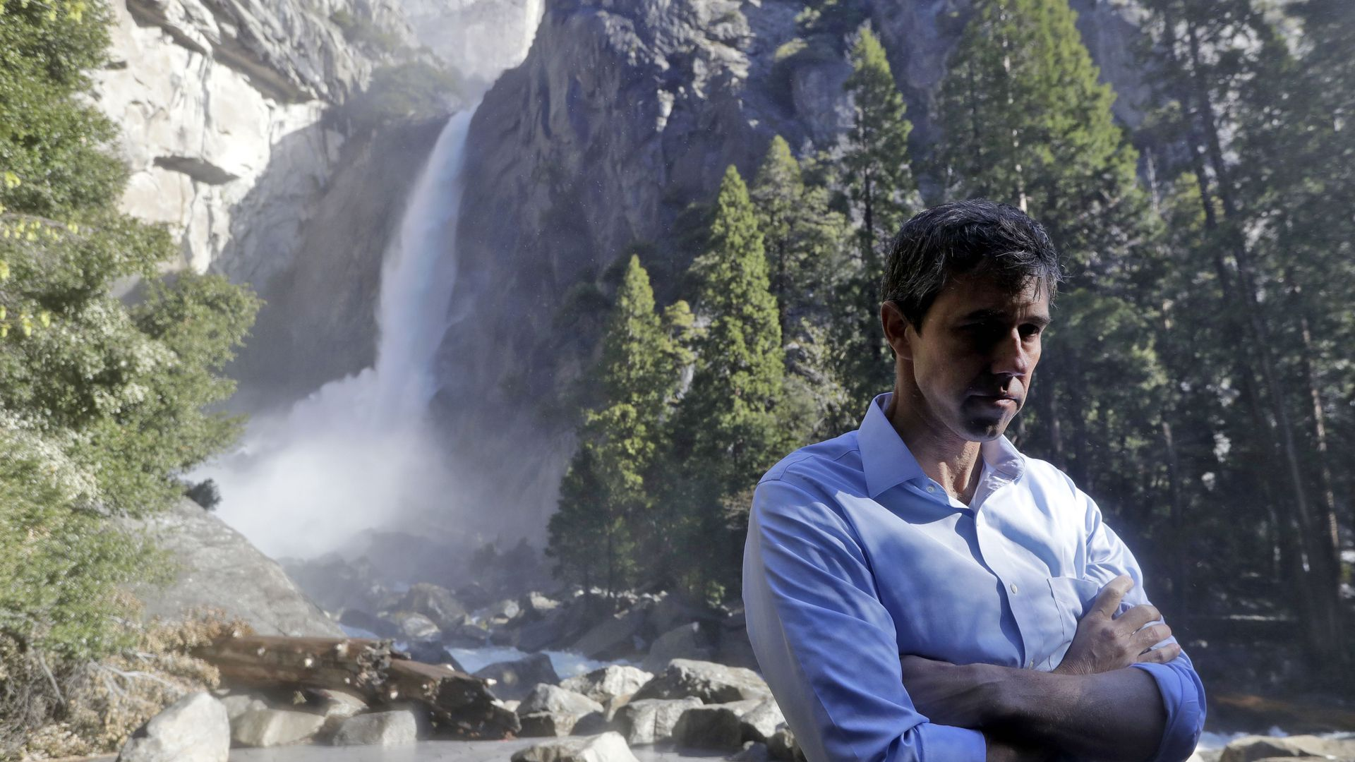 Beto O'Rourke at Yosemite