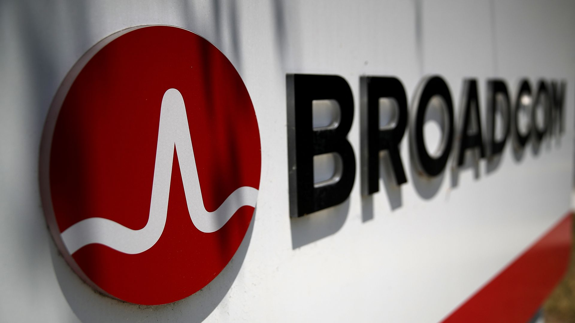 Broadcom office logo.