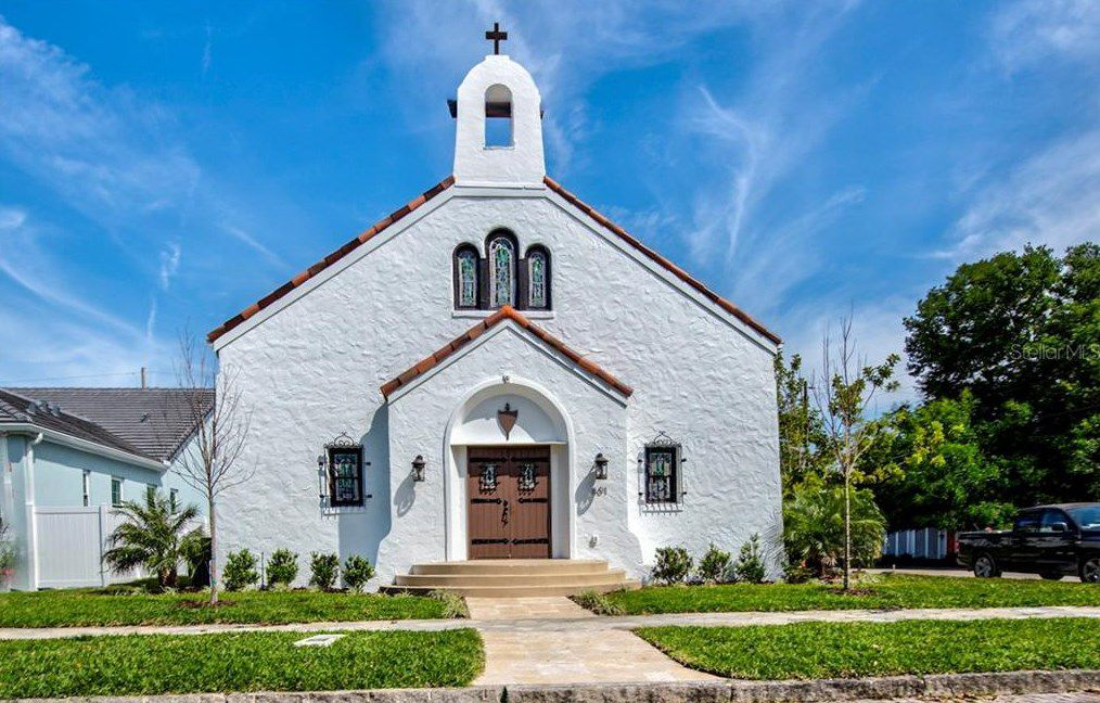 St. Pete church turned luxury home sells for $1.3M
