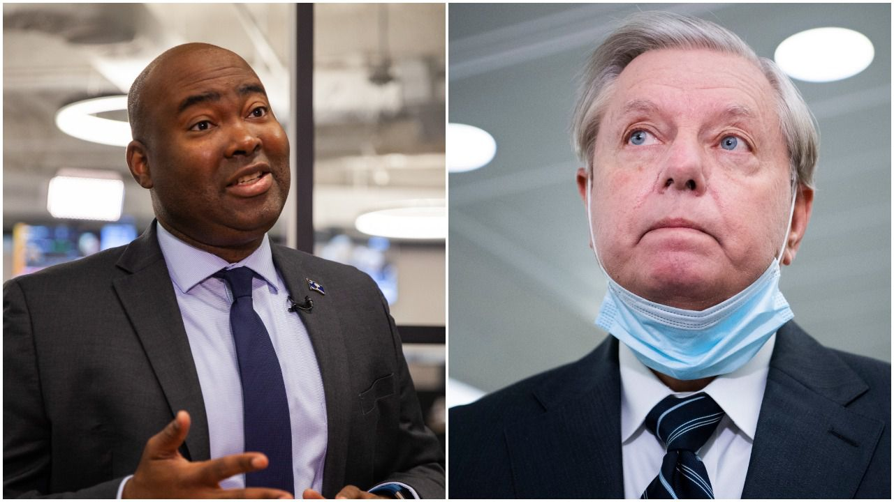 Poll: Jaime Harrison tied with Lindsey Graham in South Carolina