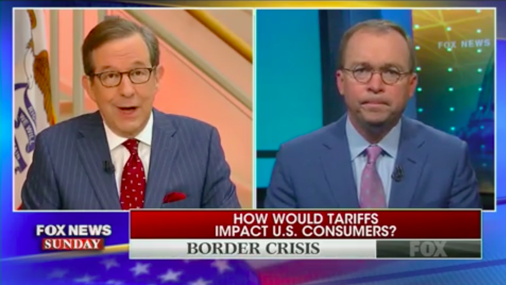 Mexico trade war: Mick Mulvaney says Trump is