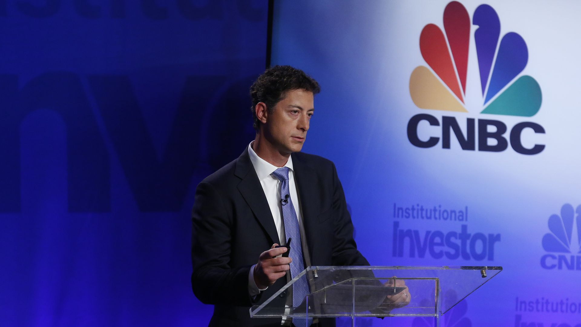 Jeffrey Smith, CEO of Starboard Value LP, speaks at the 5th annual CNBC Institutional Investor Delivering Alpha Conference on Wednesday, July 15, 2015.