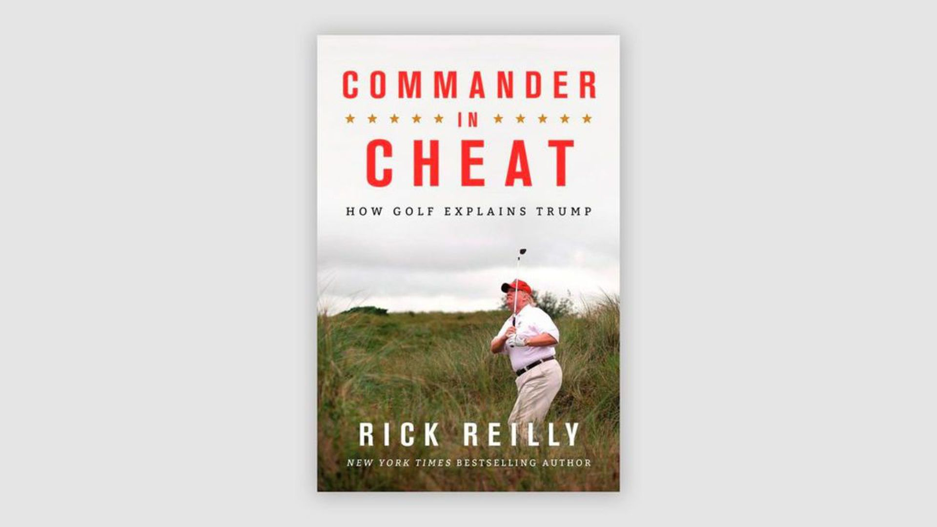 book cover of the book commander in cheat