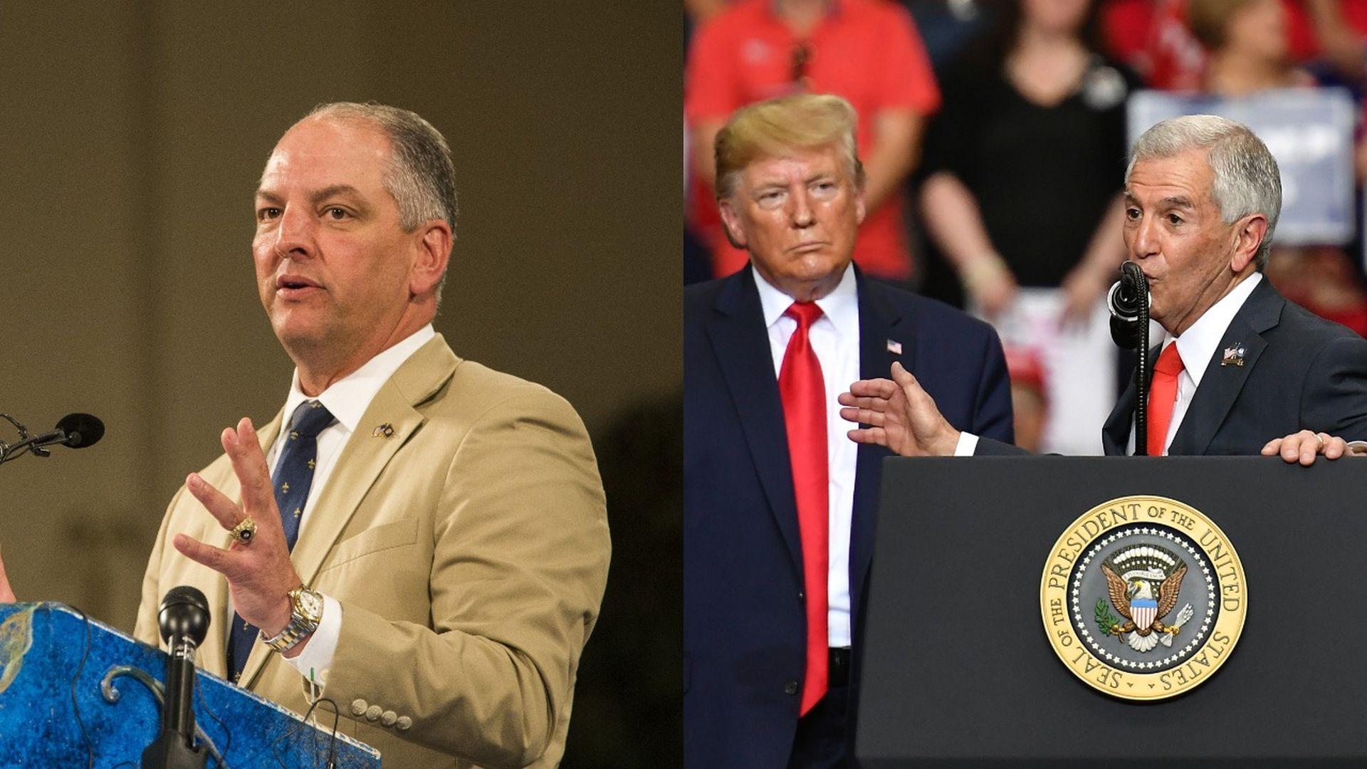 Trump leaps into Louisiana governor's race