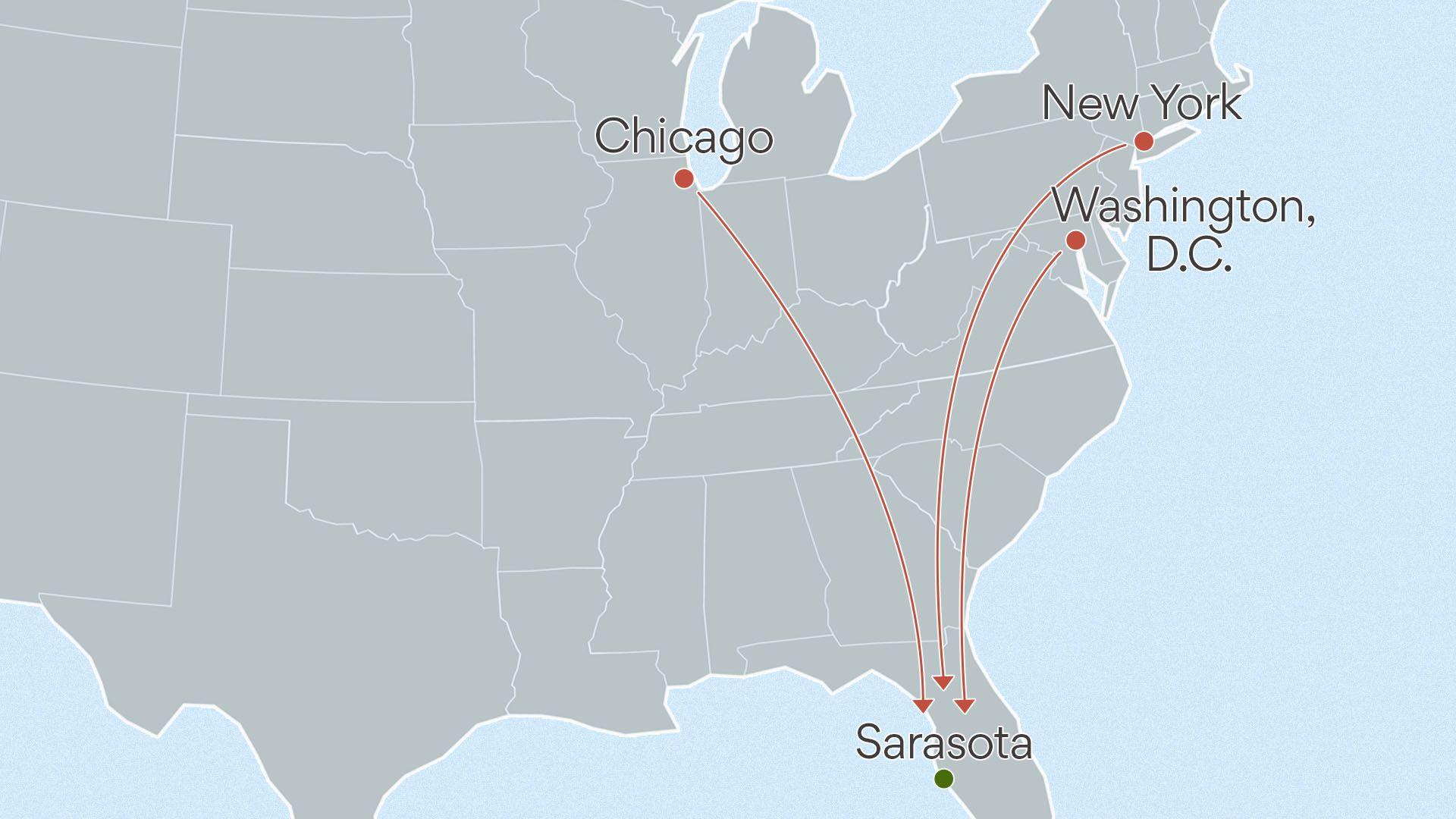 Data: Zillow; Map: Sarah Grillo/Axios