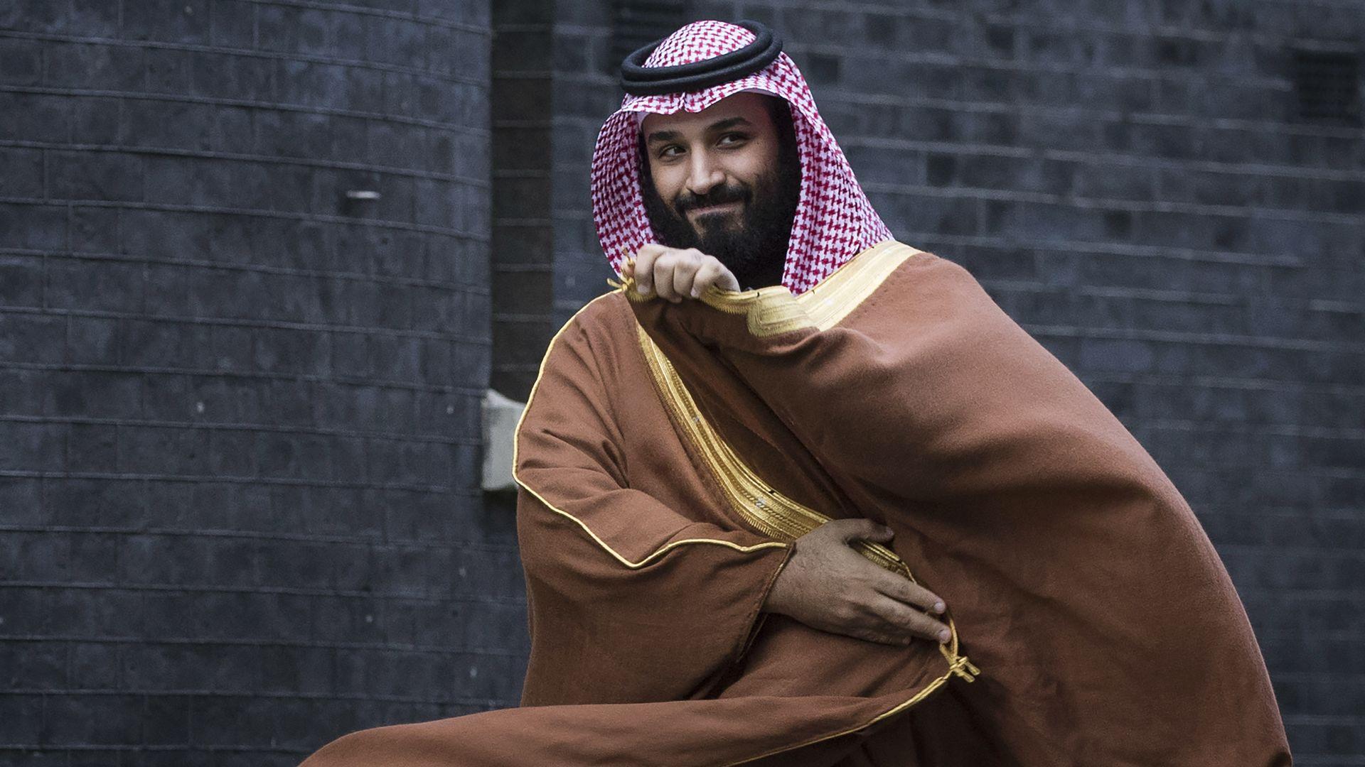 Mohammad bin Salman.