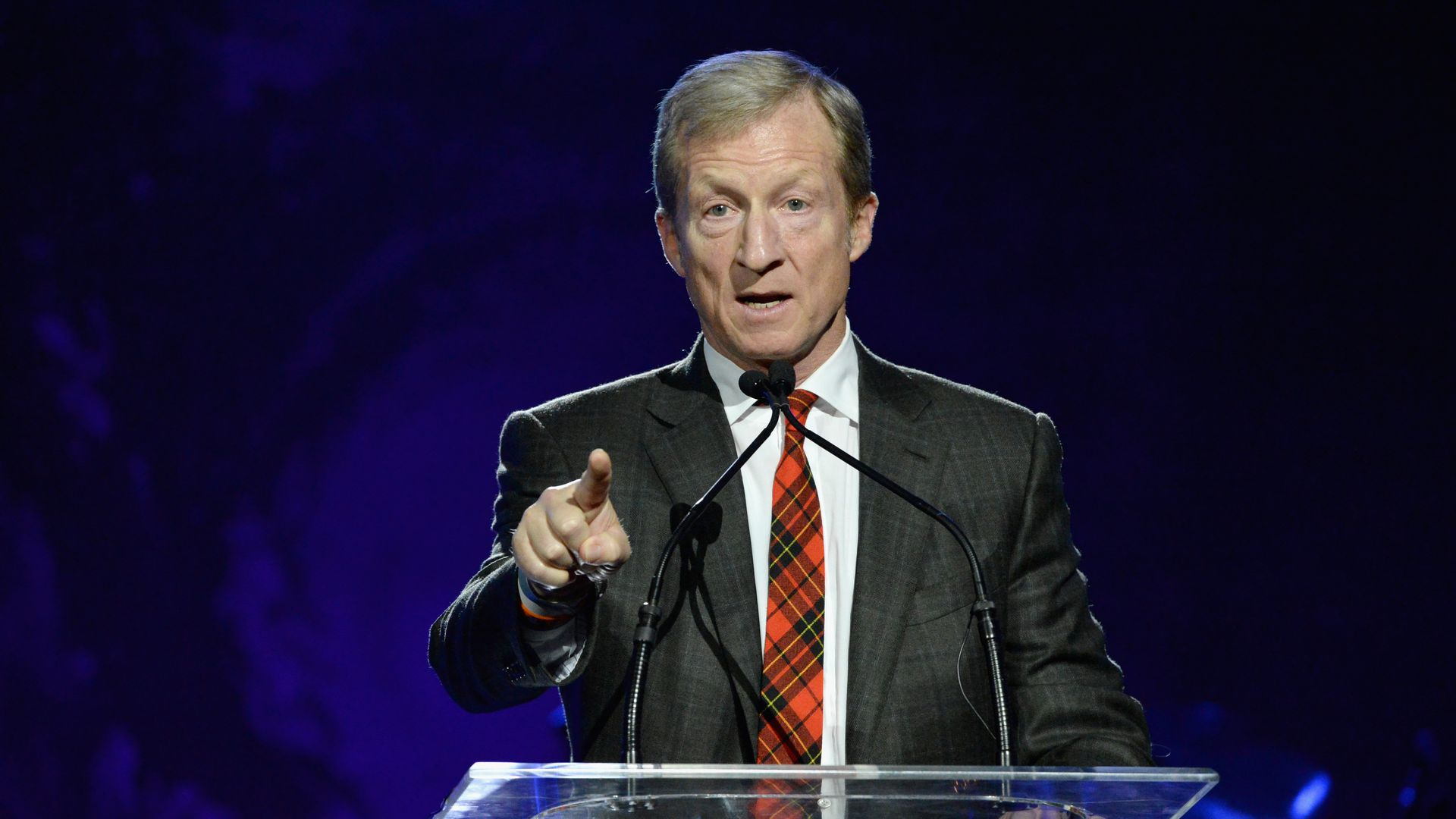 Activist billionaire Tom Steyer