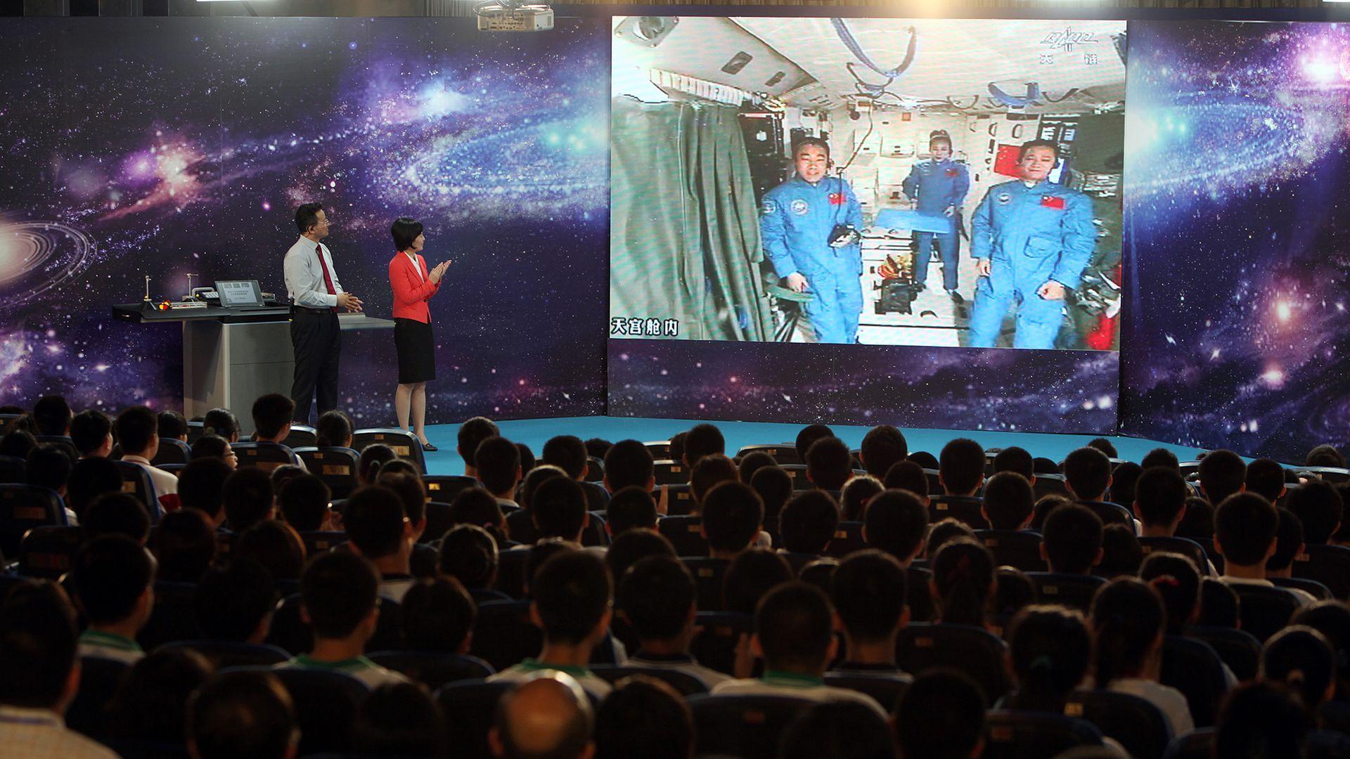 Tiangong-1 astronauts