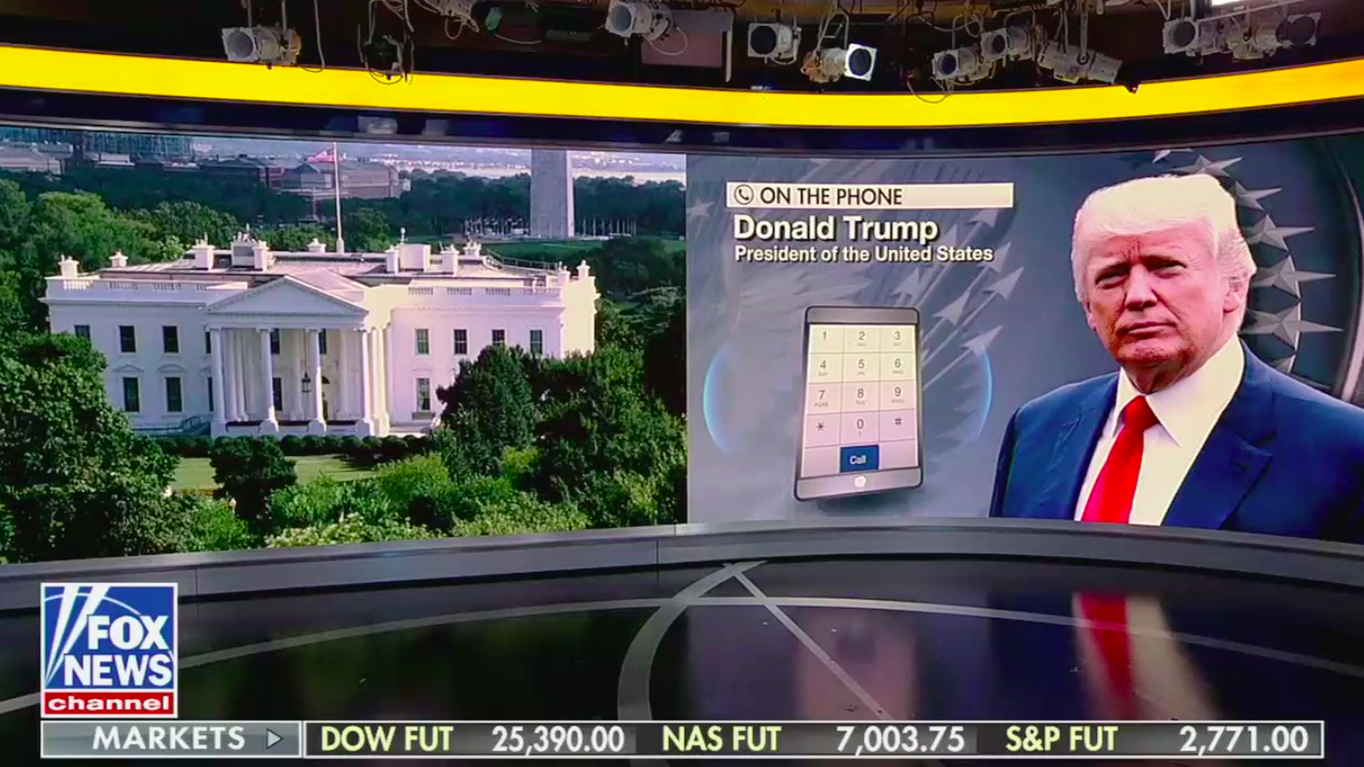 """The takeaways from Trump's 47-minute """"Fox & Friends"""" call"""