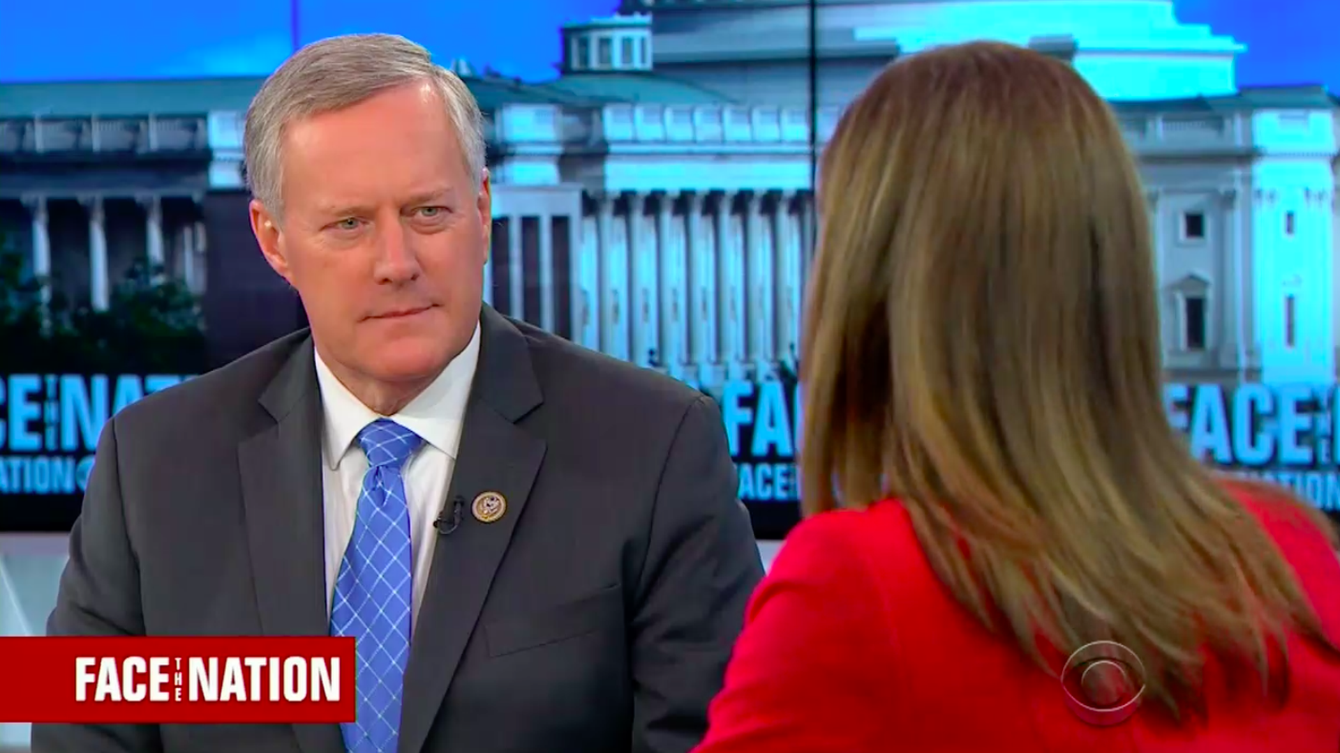 Rep. Mark Meadows on Face the Nation.