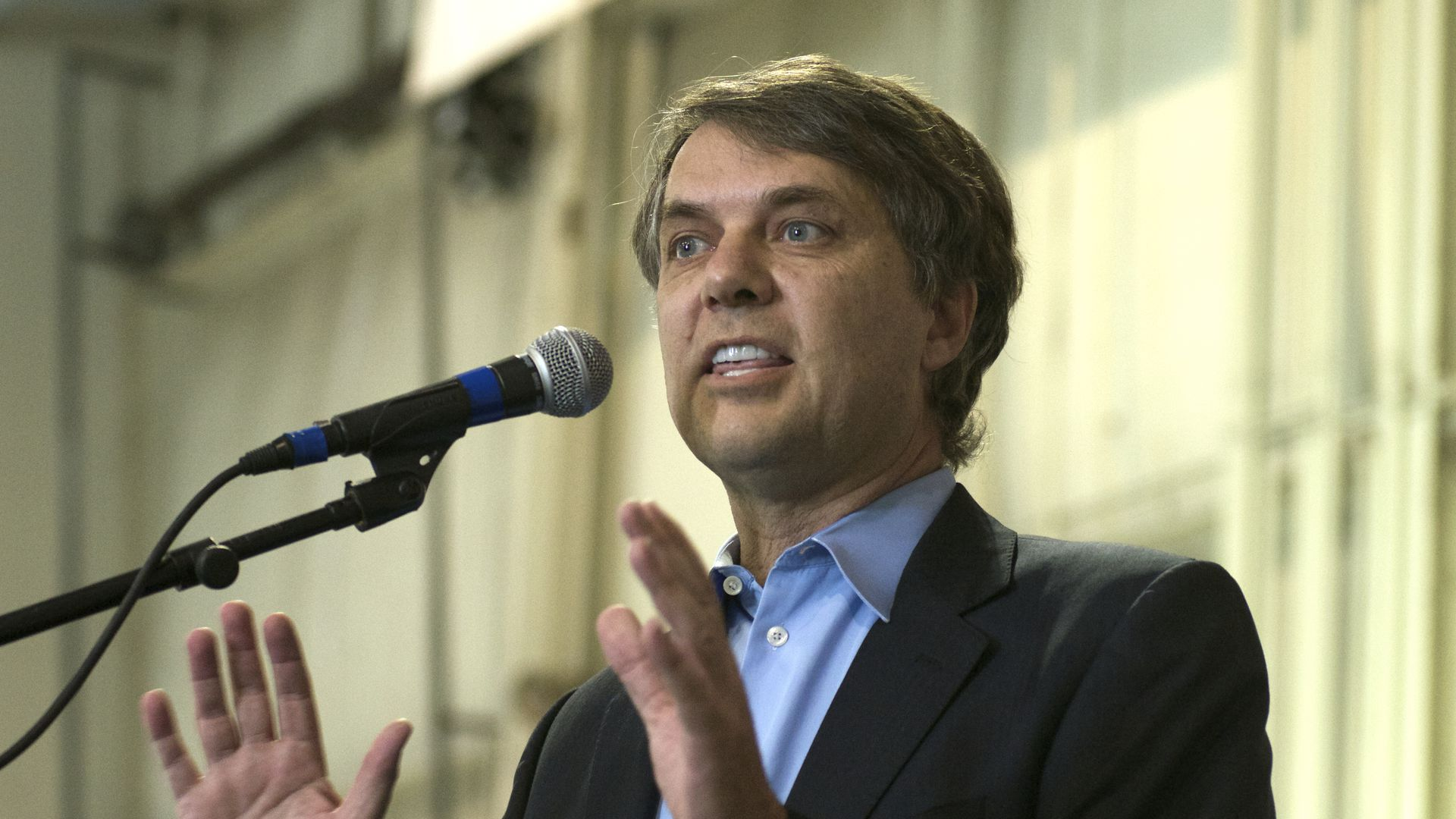 Kansas governor Jeff Colyer will sign a bill that would allow discrimination against adopting gay couples. Mark Reinstein/Corbis via Getty Images.