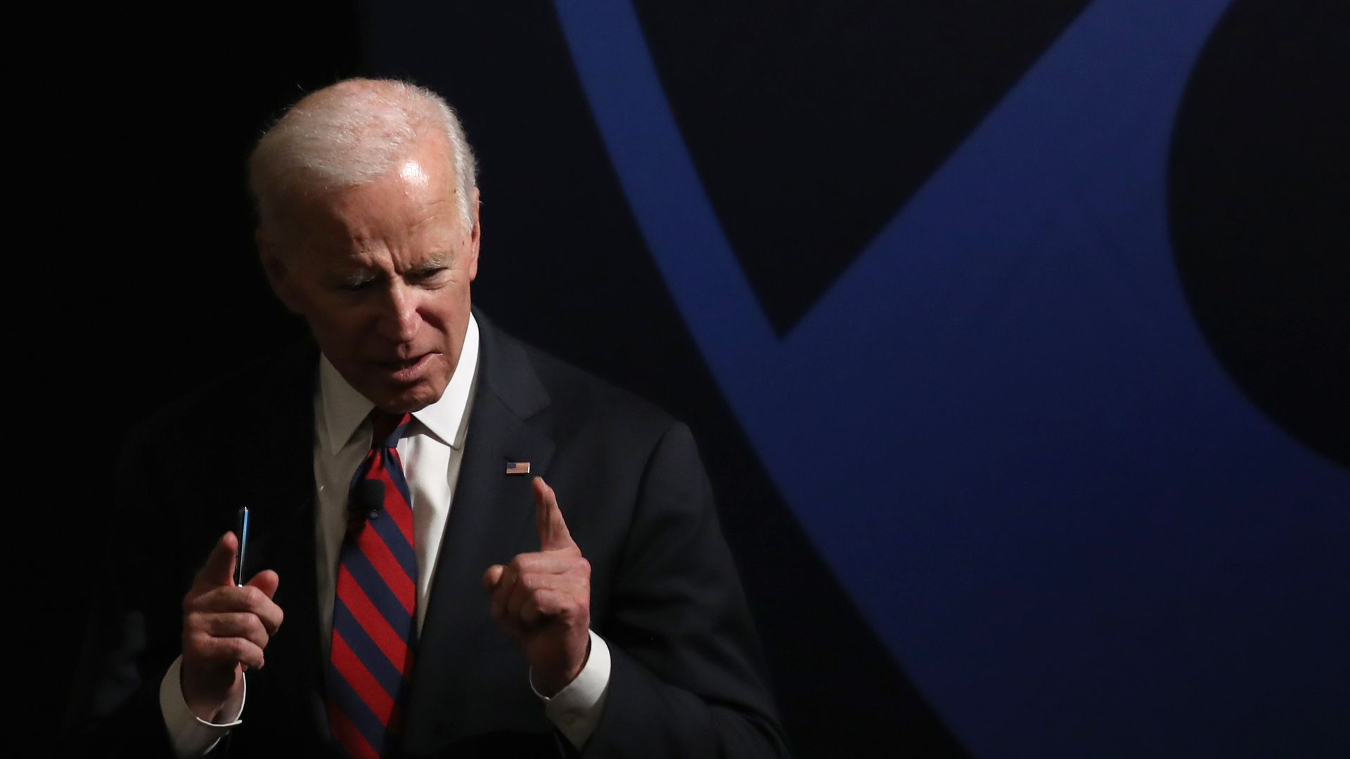 "Joe Biden says he is ""very close"" to making a decision on whether to run for president in 2020."