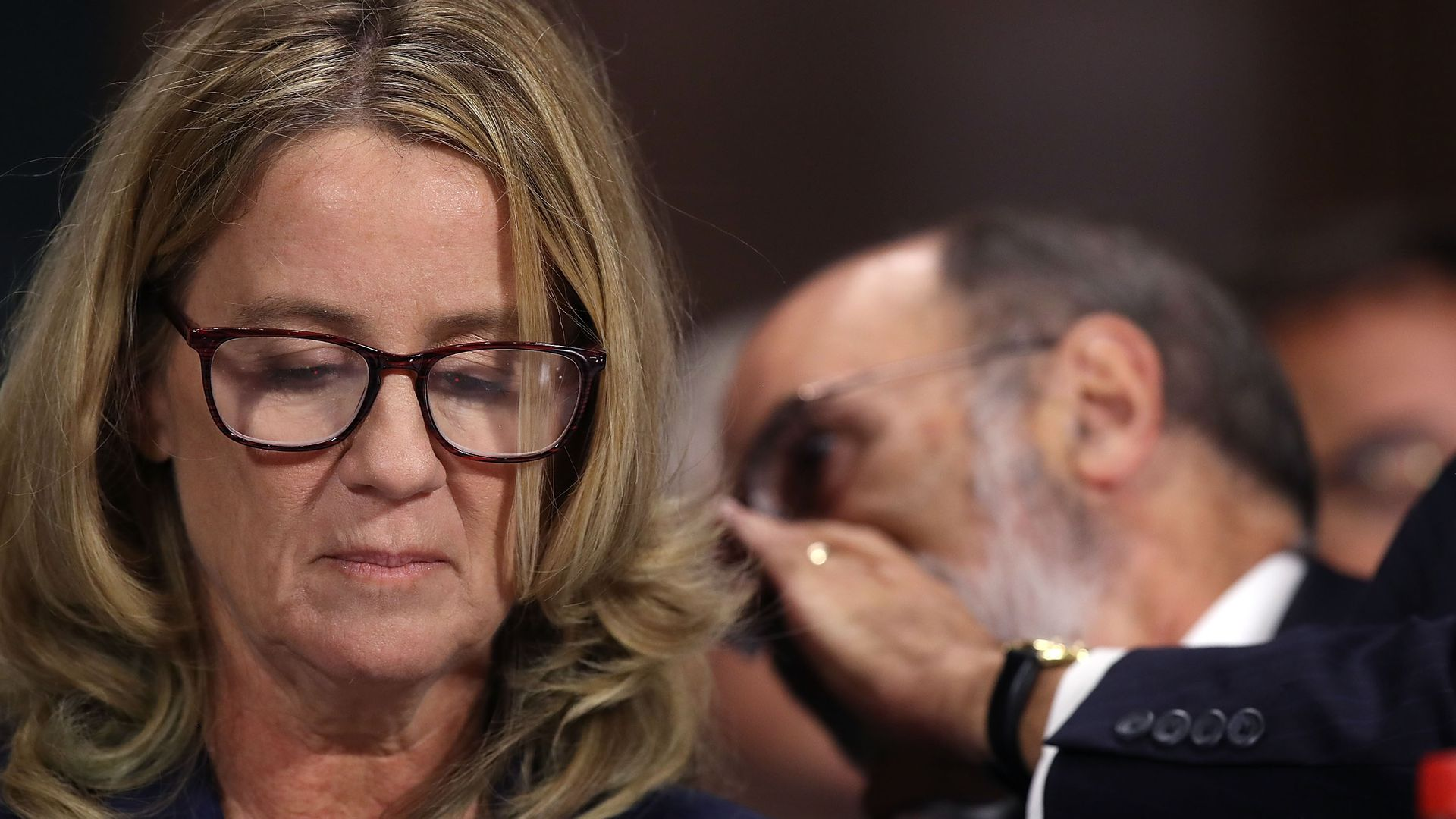 Christine Blasey Ford.