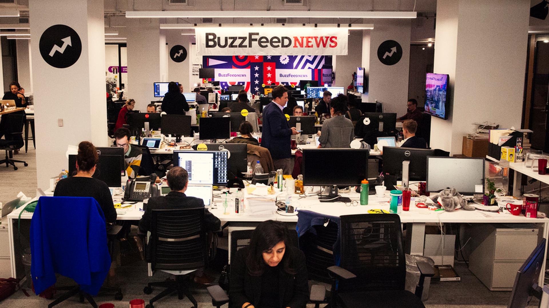 Buzzfeed Takes On Fake News Axios