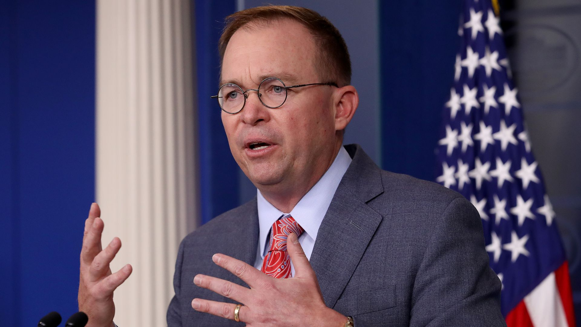 Judge to consider Mulvaney request to join lawsuit naming Trump as defendant