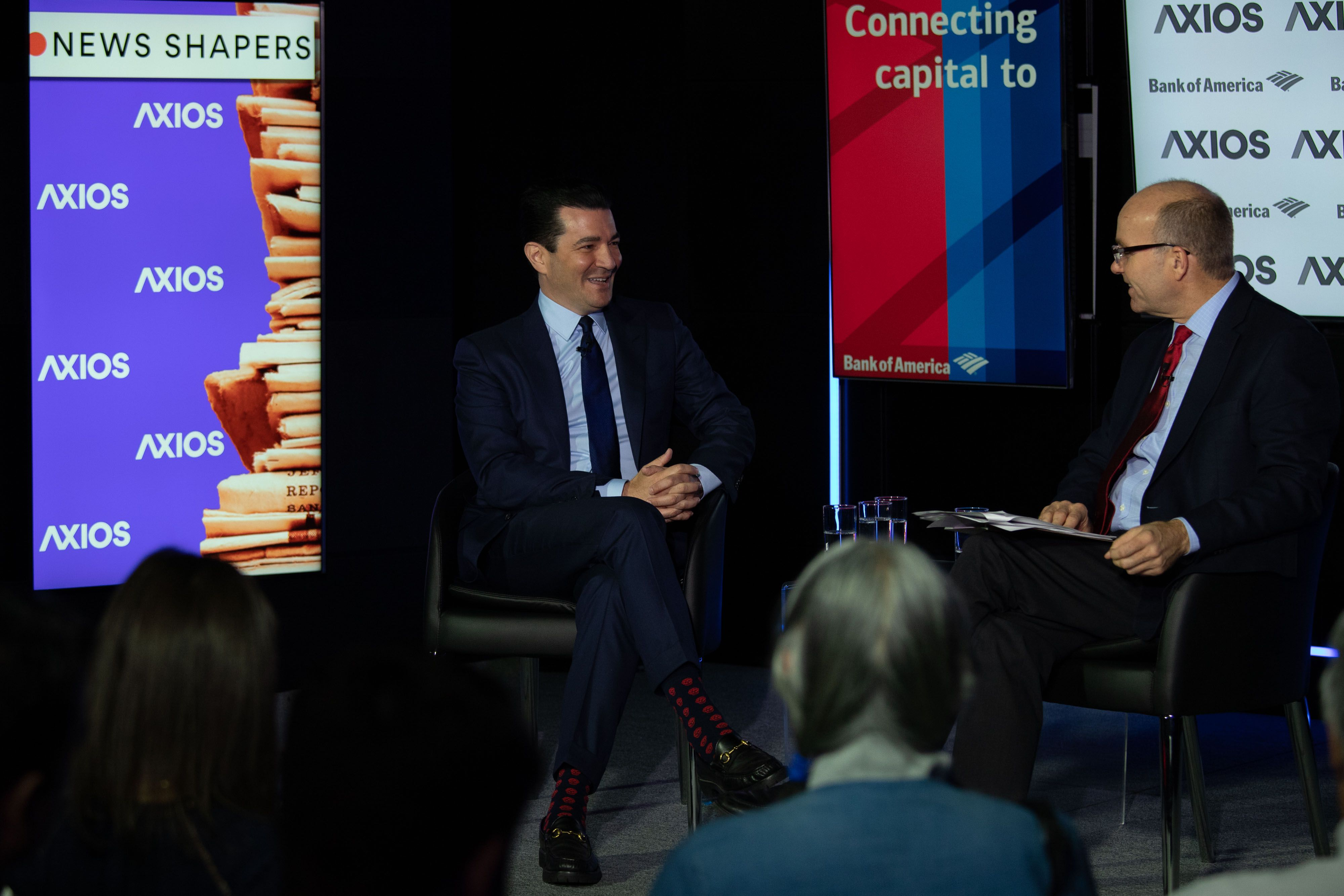 FDA Commissioner Scott Gottlieb on the Axios stage
