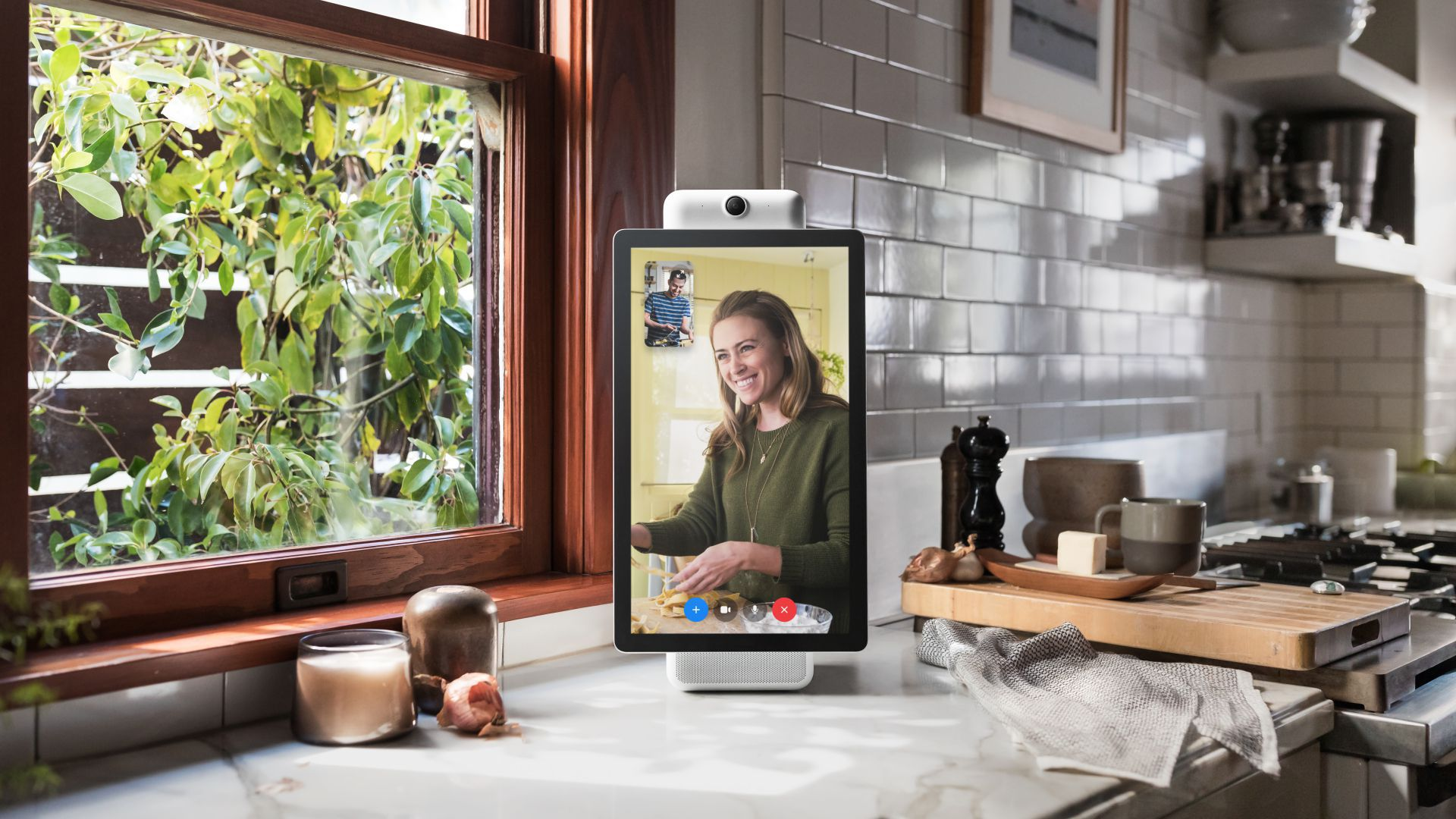 Facebook's Portal video chat device.