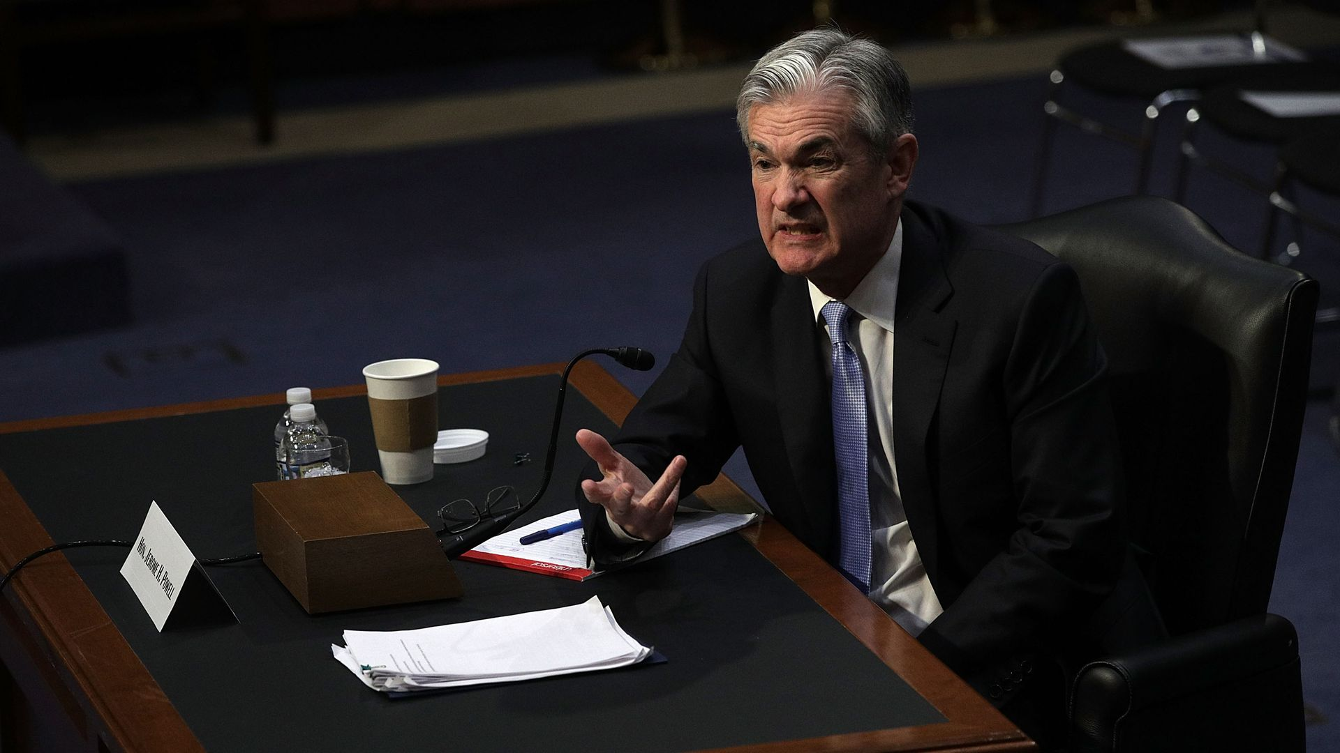 The new Fed Chair Jerome Powell.