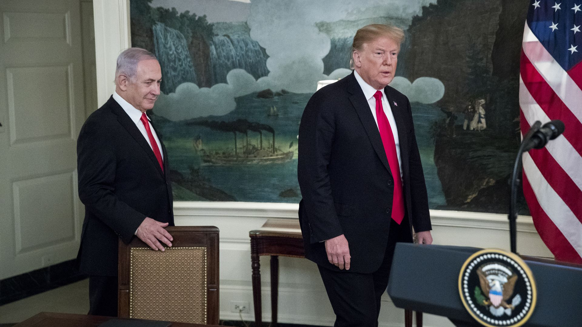 Trump after Netanyahu election setback: Our relations are with Israel