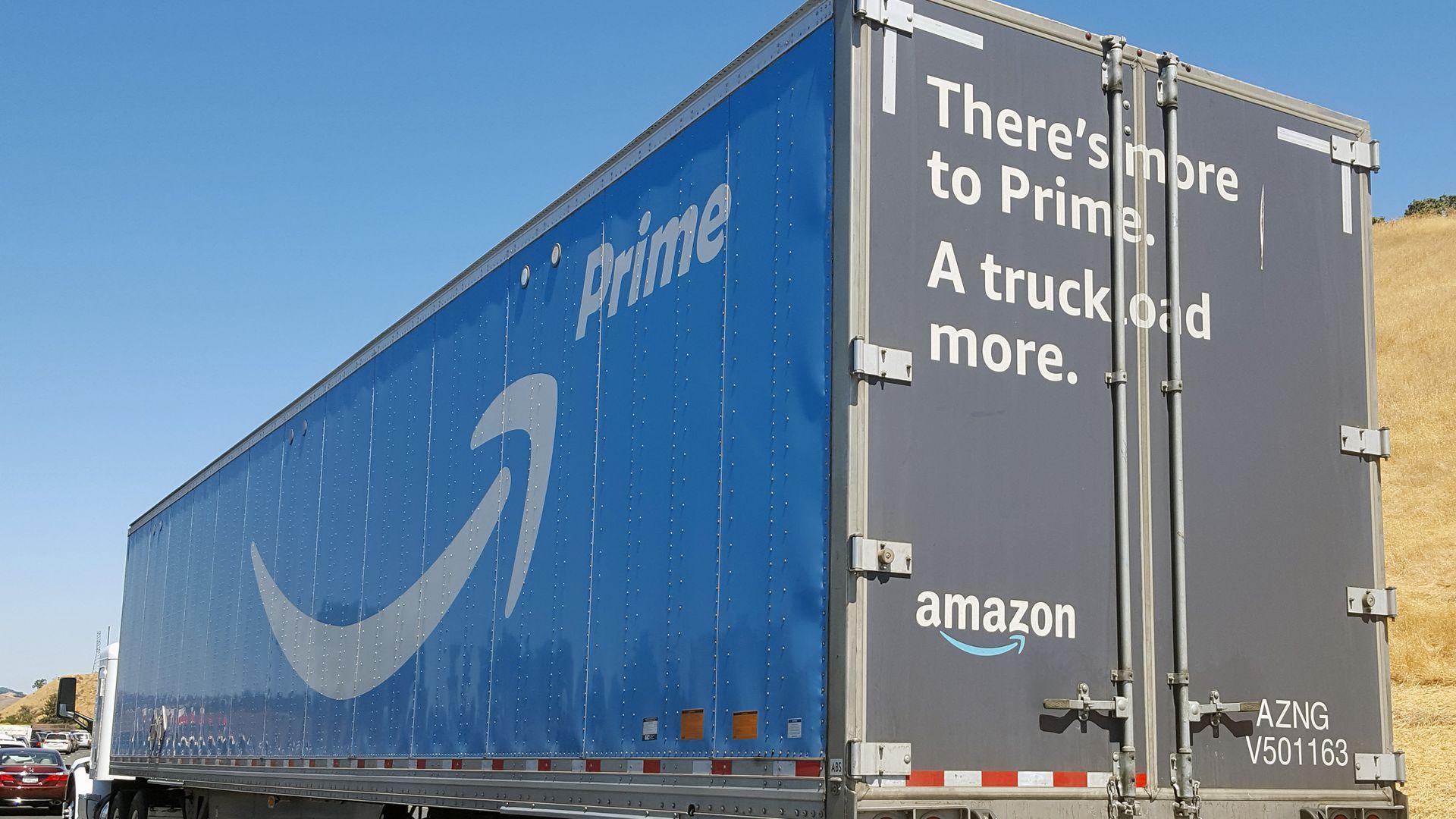 Amazon sets eyes on its next target - Axios