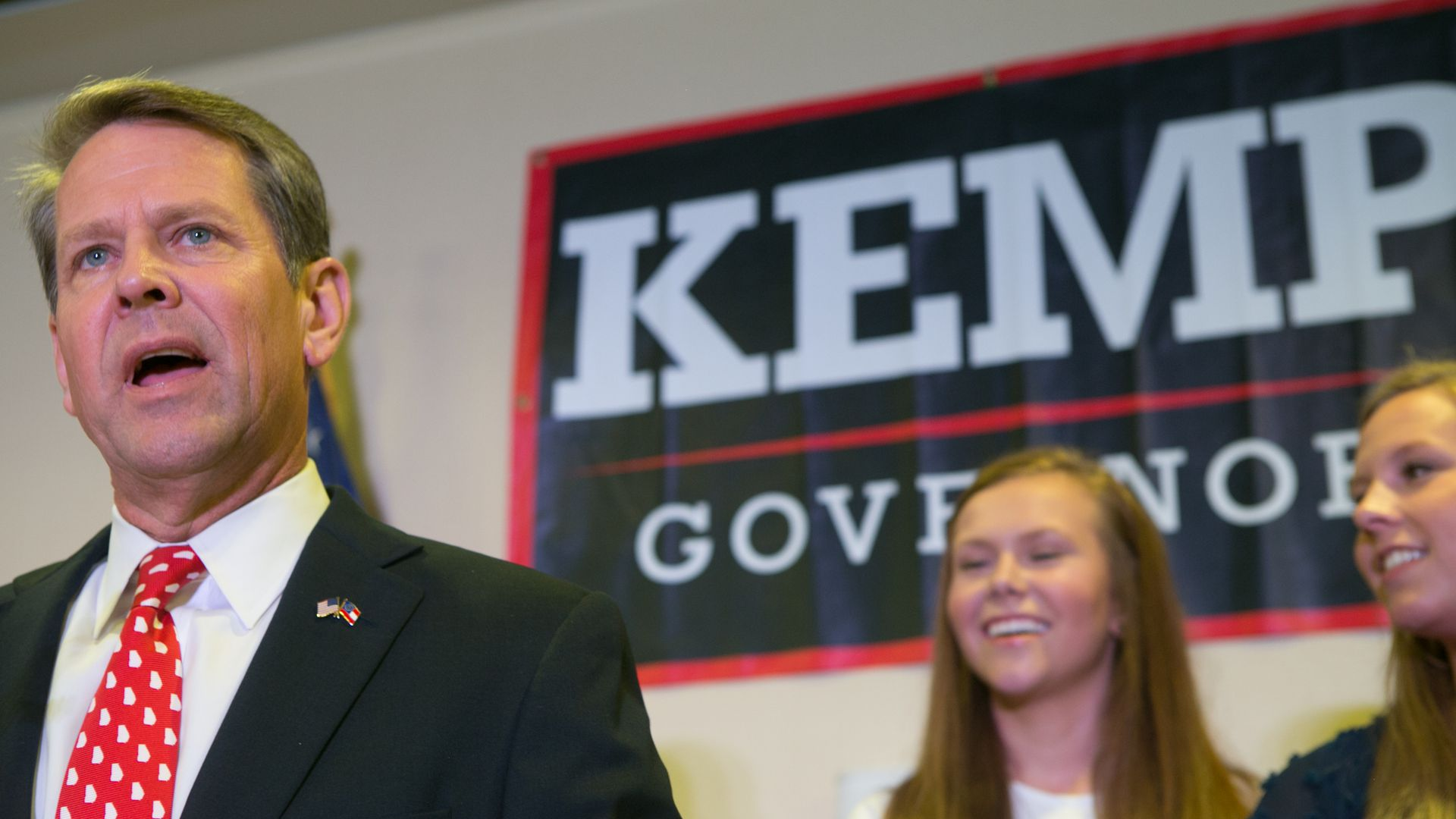 Georgia's Secretary of State Brian Kemp. Photo: Jessica McGowan/Getty Images