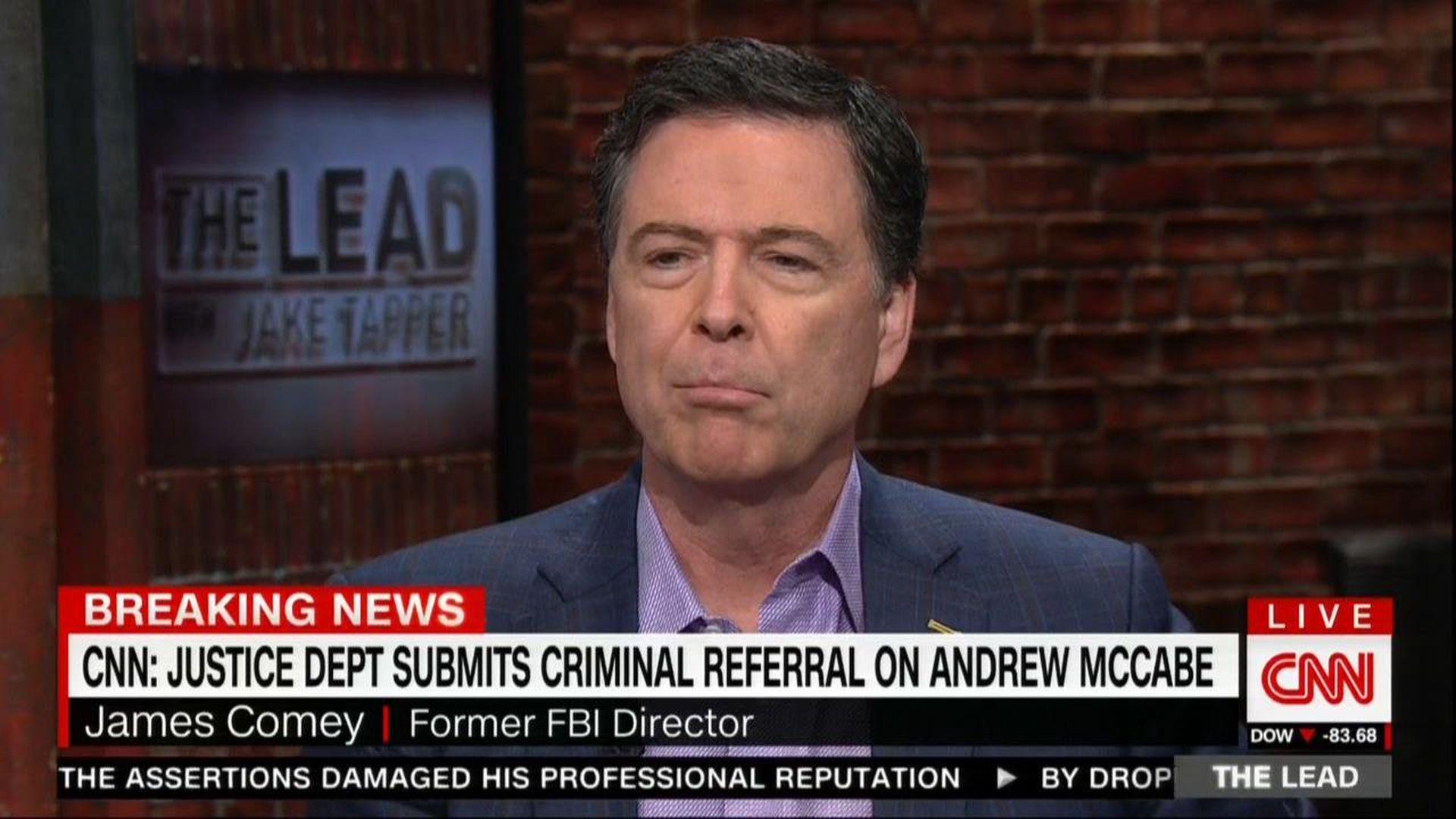 James Comey on CNN