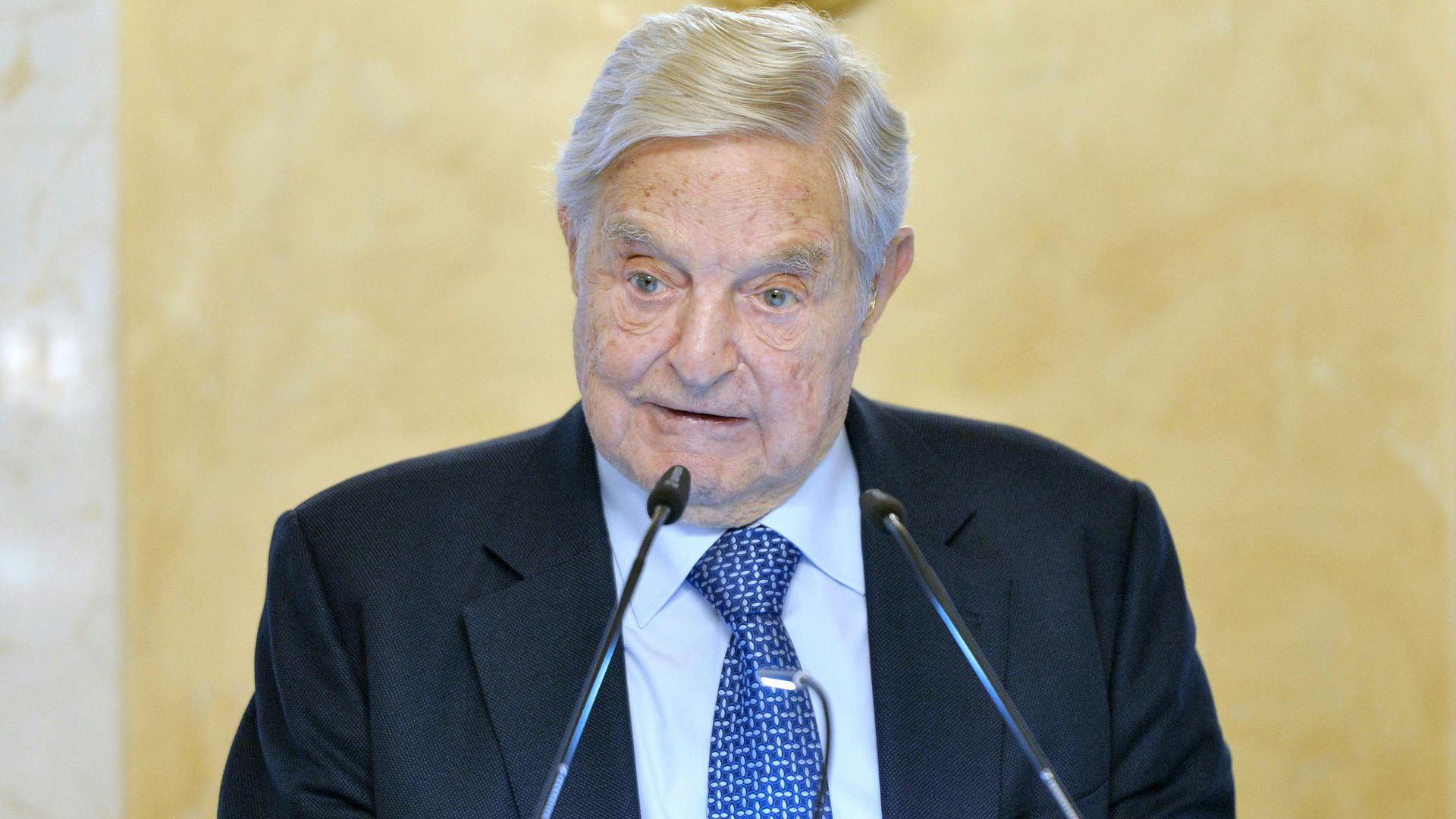 Billionaire and U.S. investor George Soros.