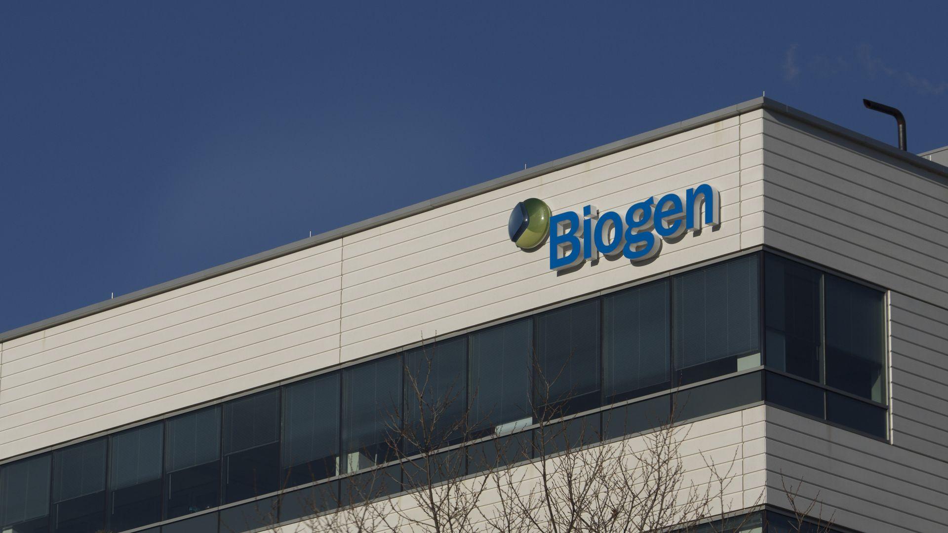 Biogen headquarters building.
