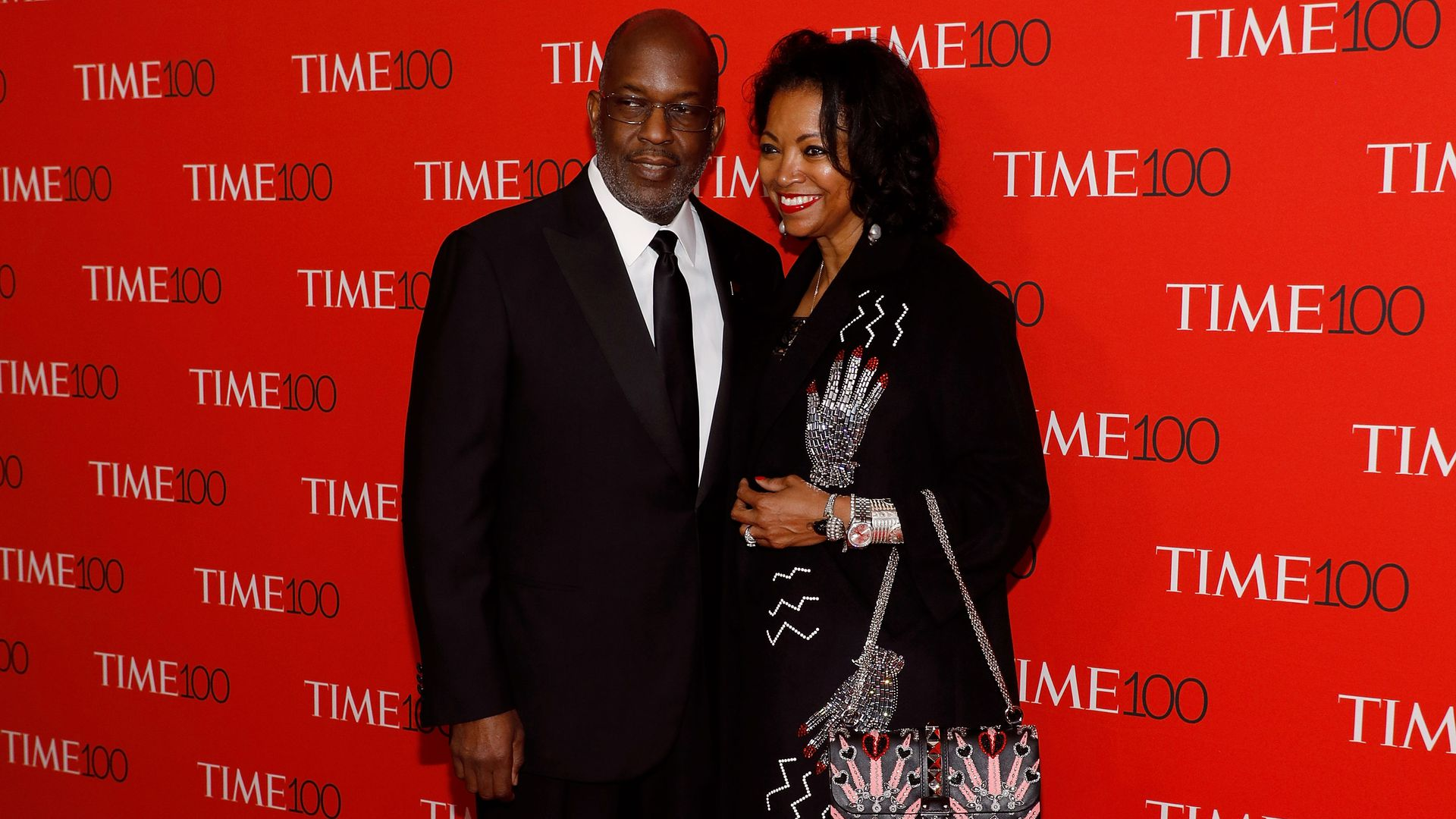 Kaiser Permanente CEO and Chairman Bernard J. Tyson with Denise Bradley-Tyson, his wife.