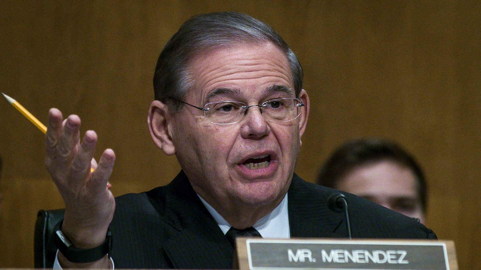 Bob Menendez (D-N.J.), ranking member of the Senate Foreign Relations Committee.