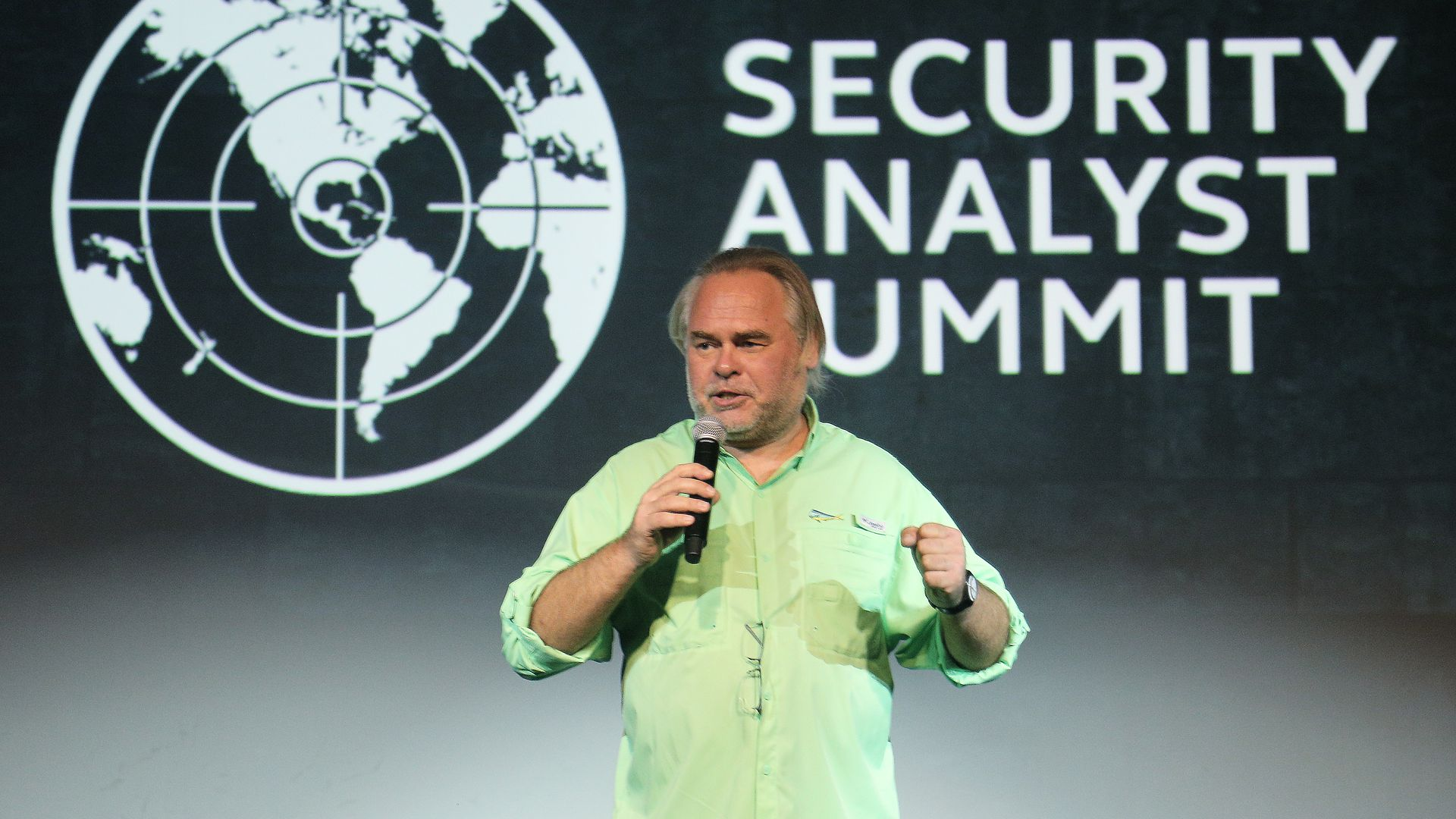 Eugene Kaspersky speaking