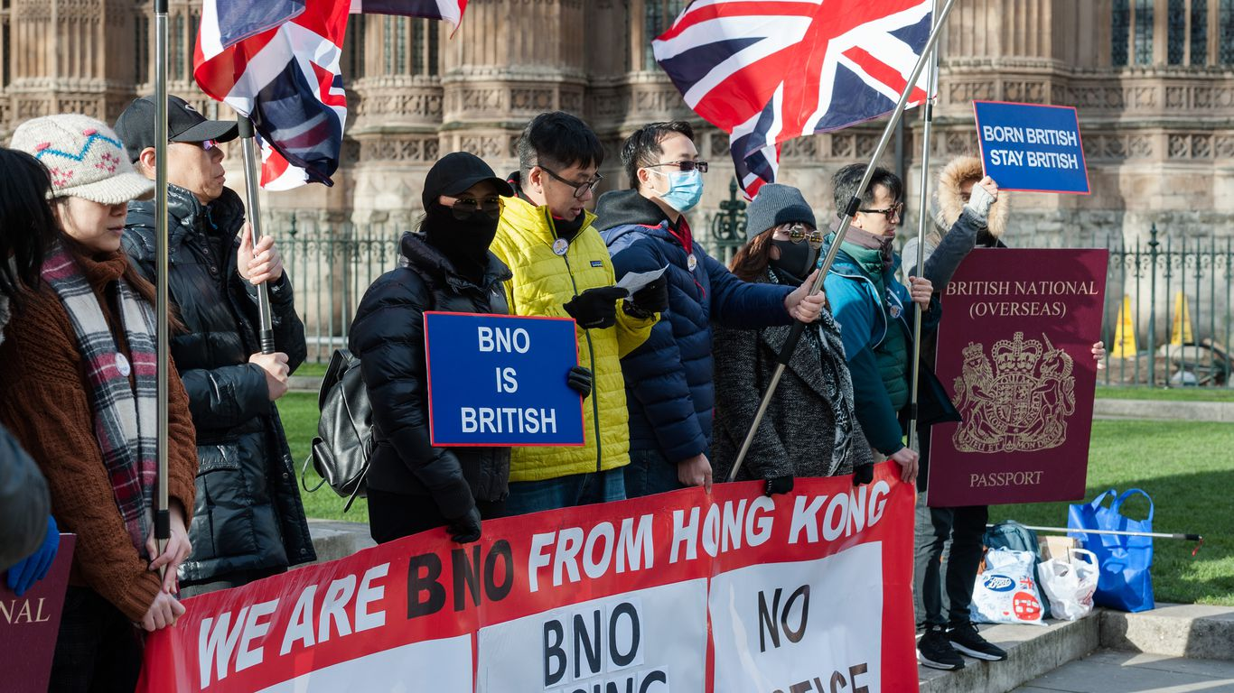 China crackdown prompts thousands to flee Hong Kong as U.K. opens new visa route thumbnail