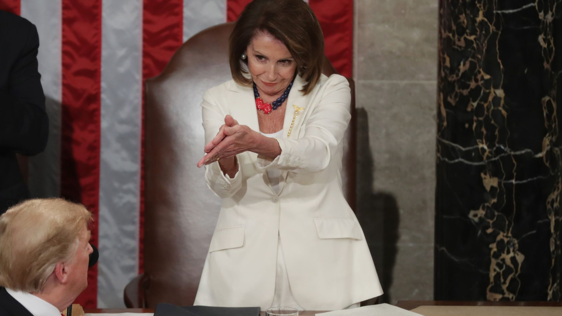Instant classic from this year's State of the Union (Photo: Chip Somodevilla/Getty Images)